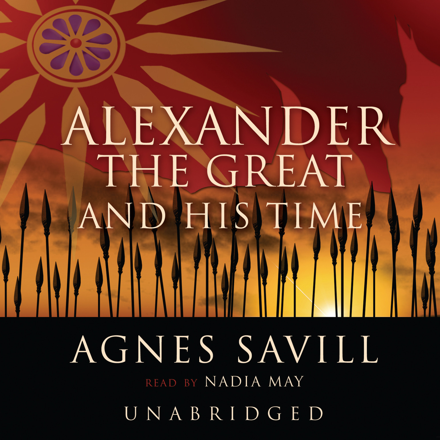 Printable Alexander the Great and His Time Audiobook Cover Art