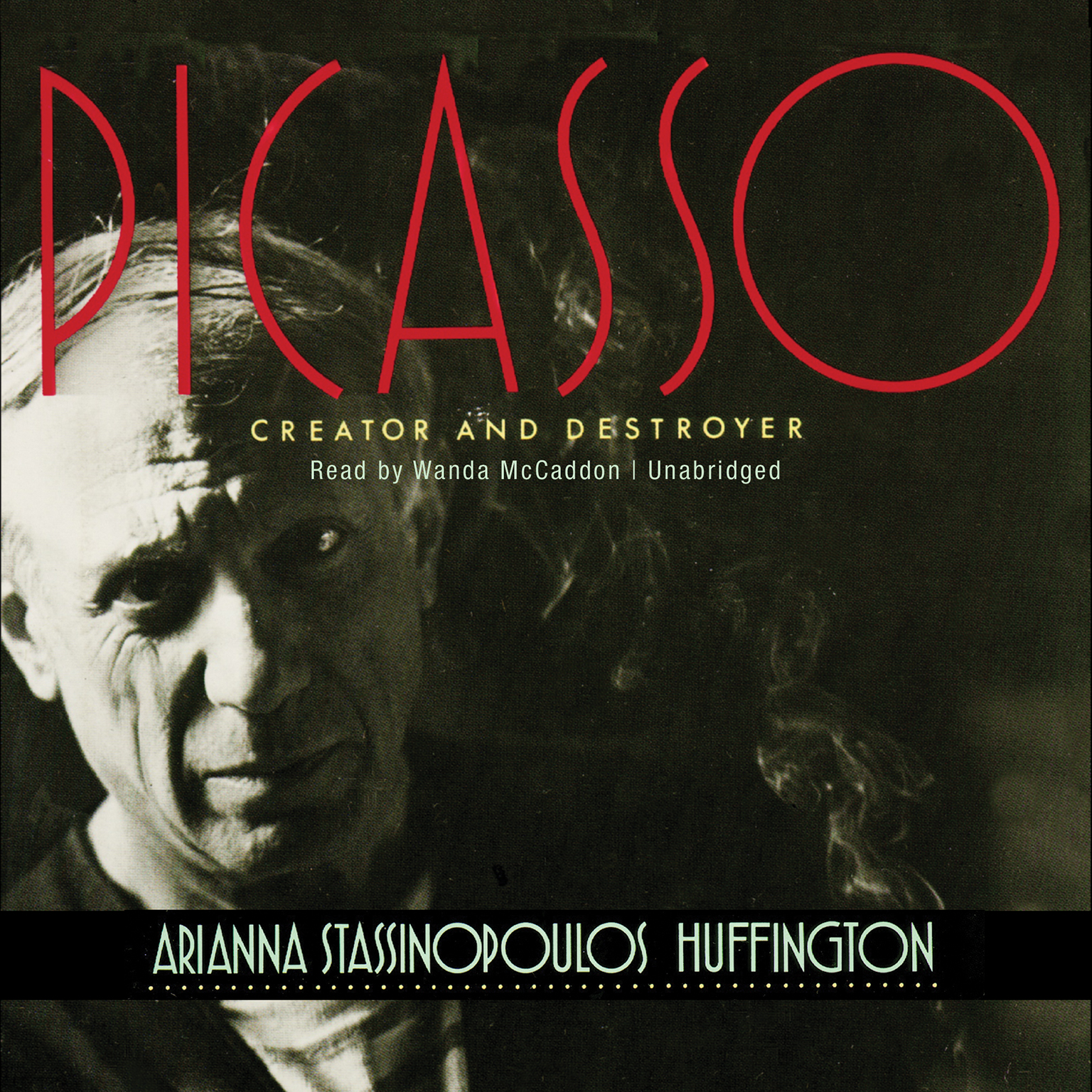 Printable Picasso: Creator and Destroyer Audiobook Cover Art