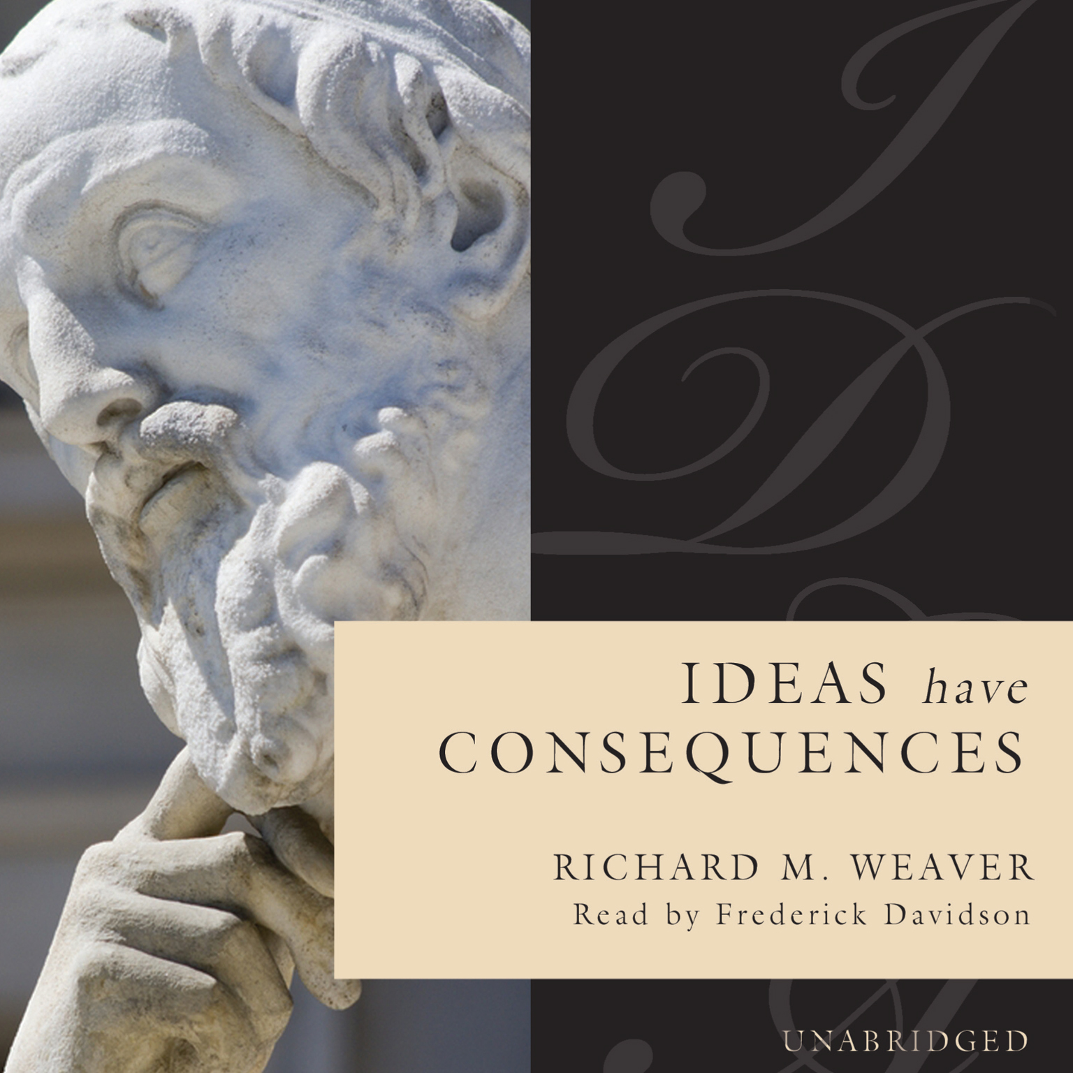 Printable Ideas Have Consequences Audiobook Cover Art