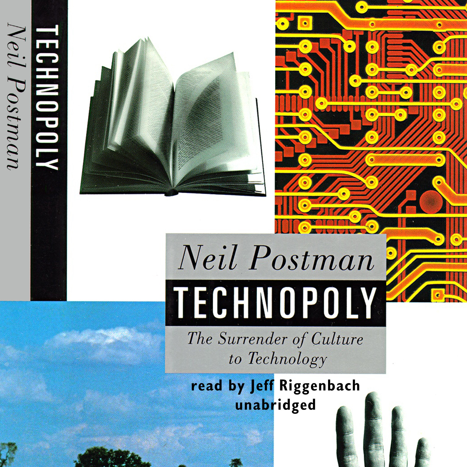 Printable Technopoly: The Surrender of Culture to Technology Audiobook Cover Art