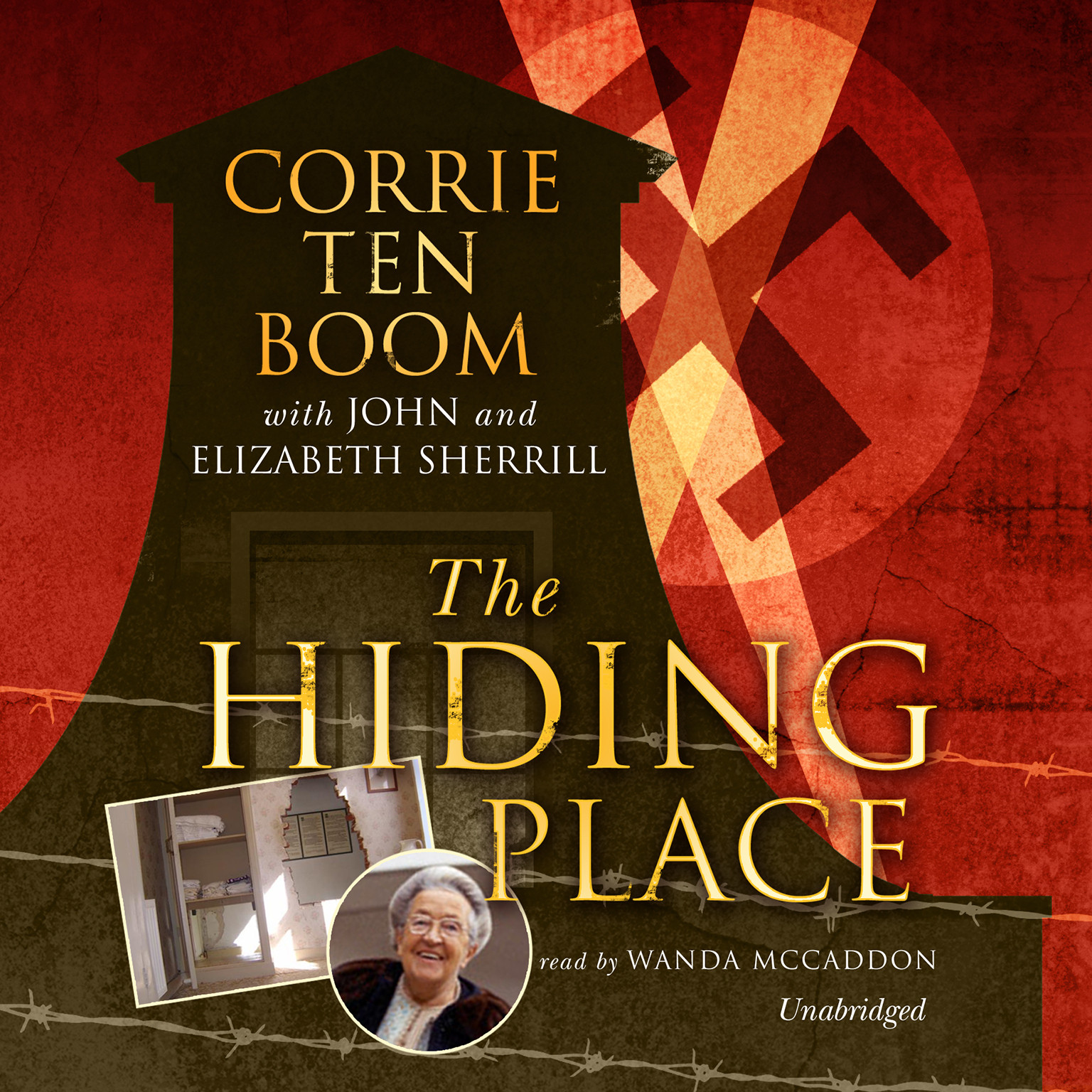Printable The Hiding Place Audiobook Cover Art