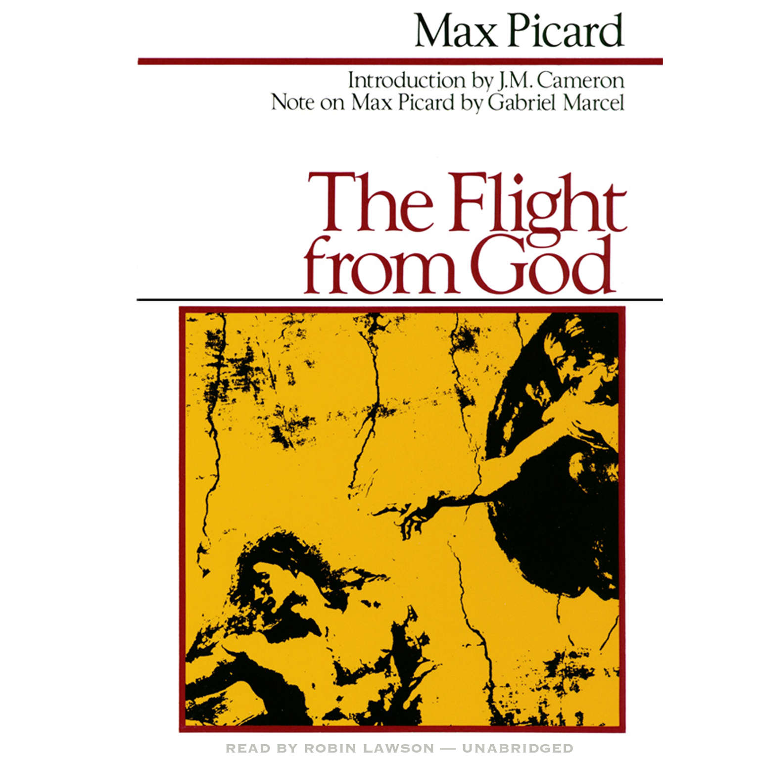 Printable The Flight from God Audiobook Cover Art