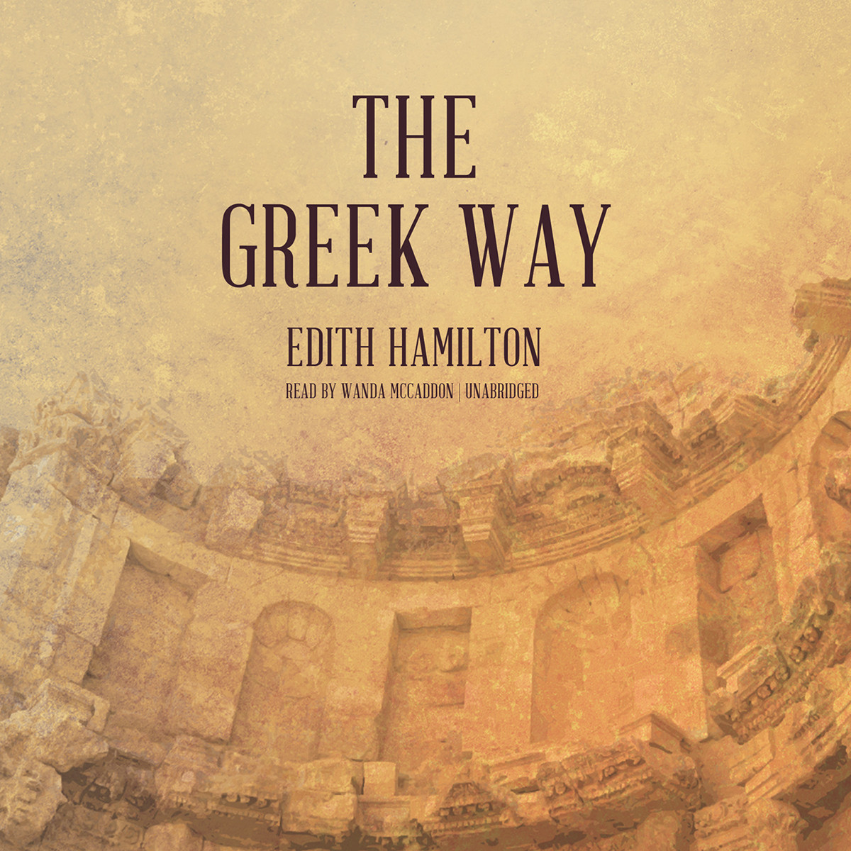 Printable The Greek Way Audiobook Cover Art