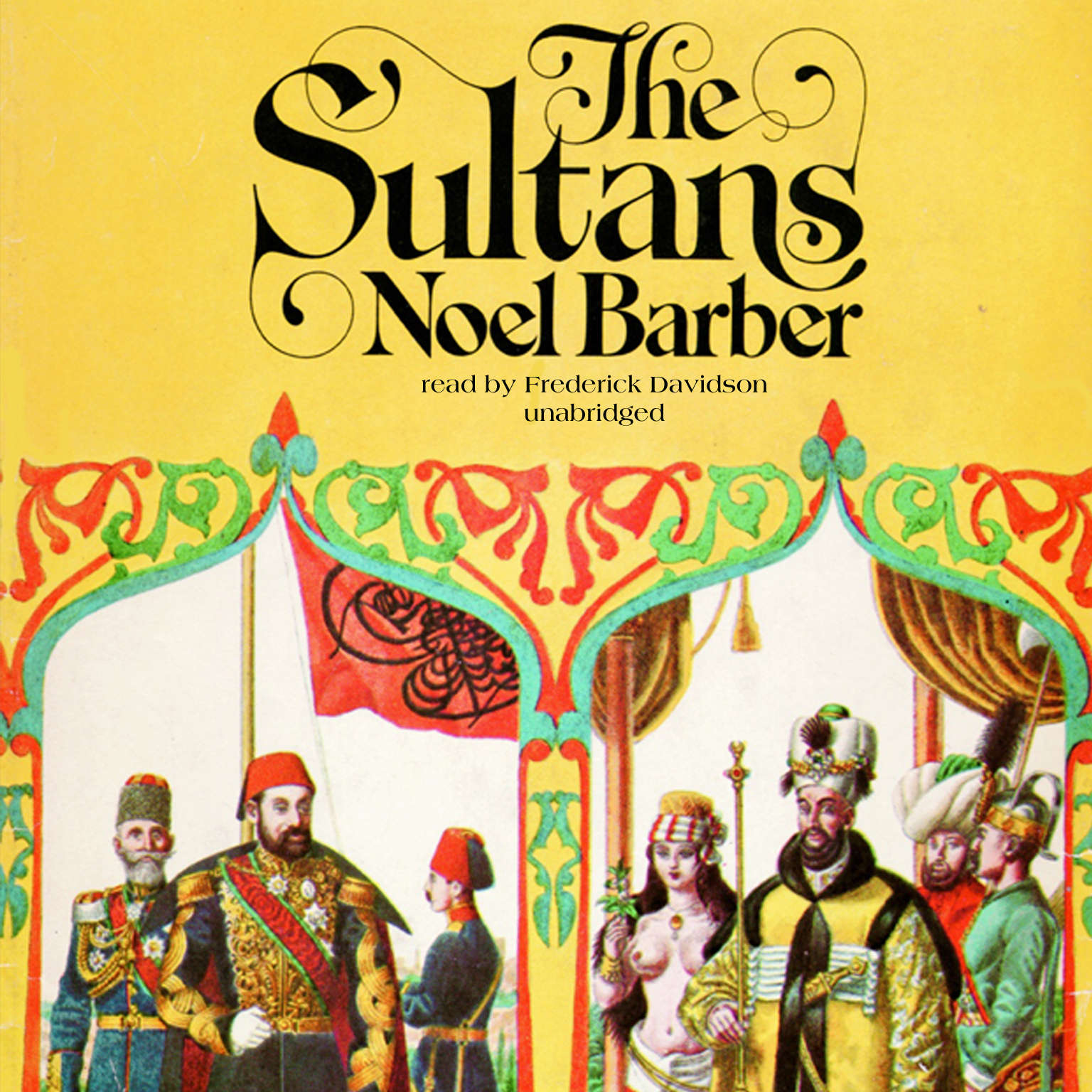 Printable The Sultans Audiobook Cover Art