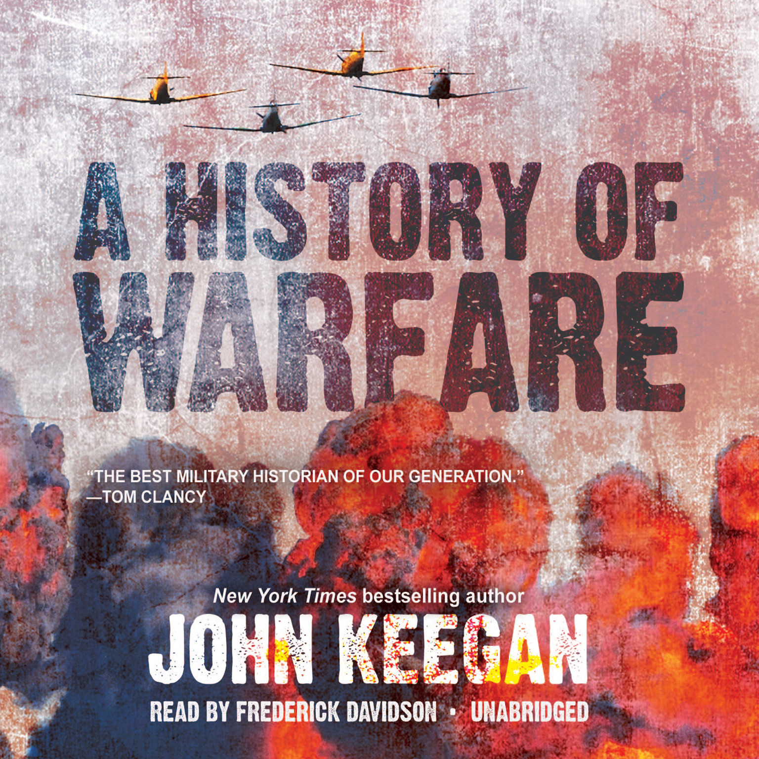 Printable A History of Warfare Audiobook Cover Art