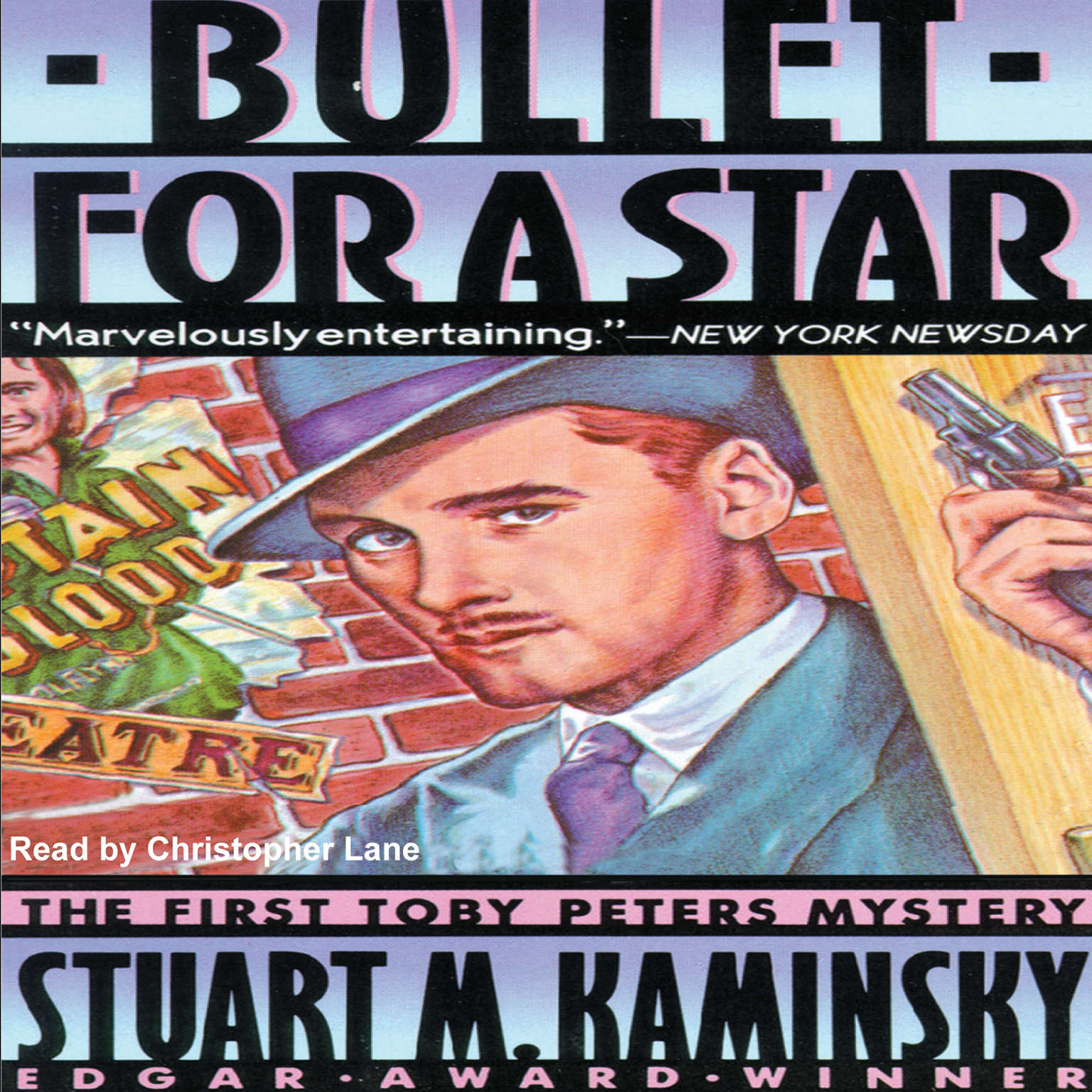 Printable Bullet for a Star Audiobook Cover Art