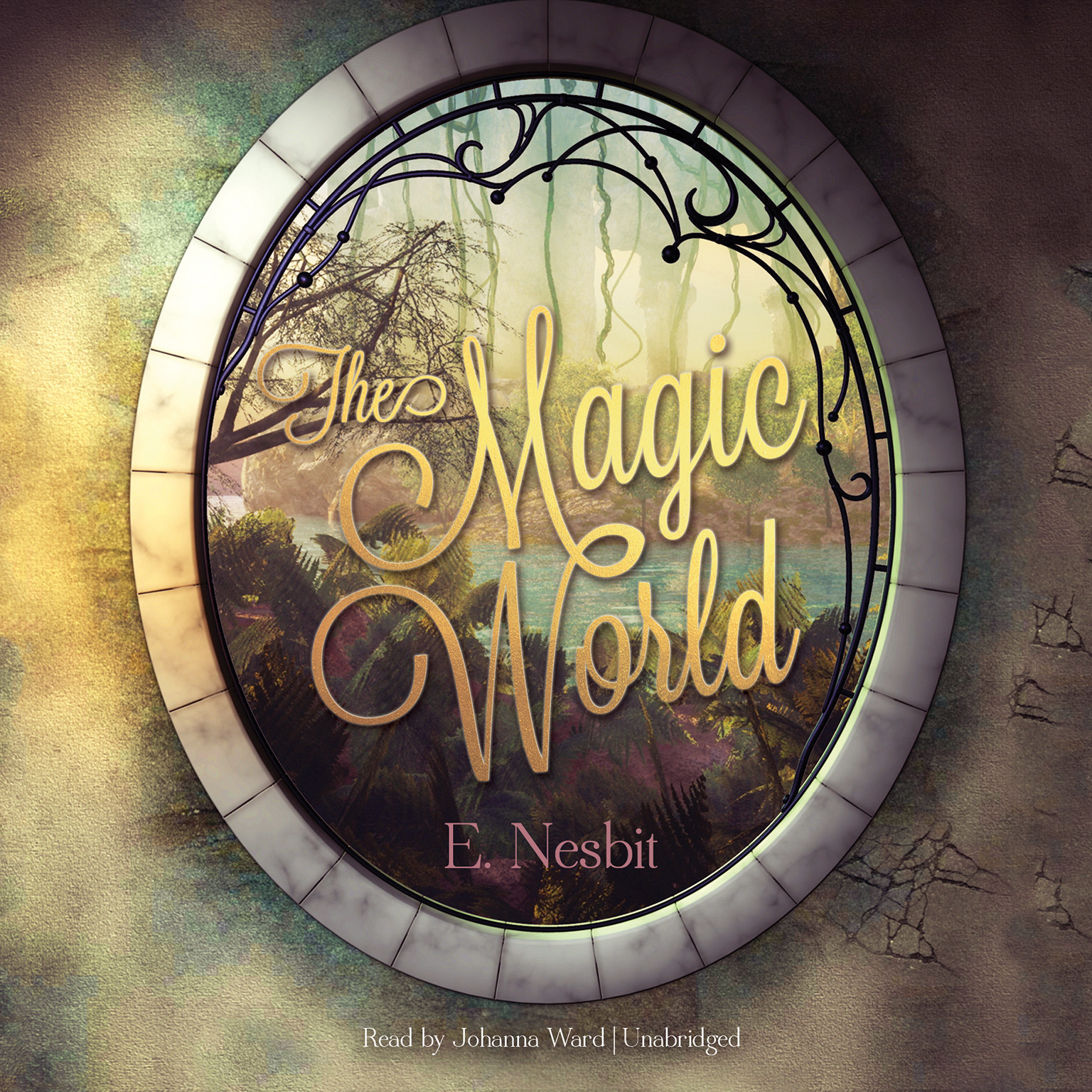 Printable The Magic World Audiobook Cover Art