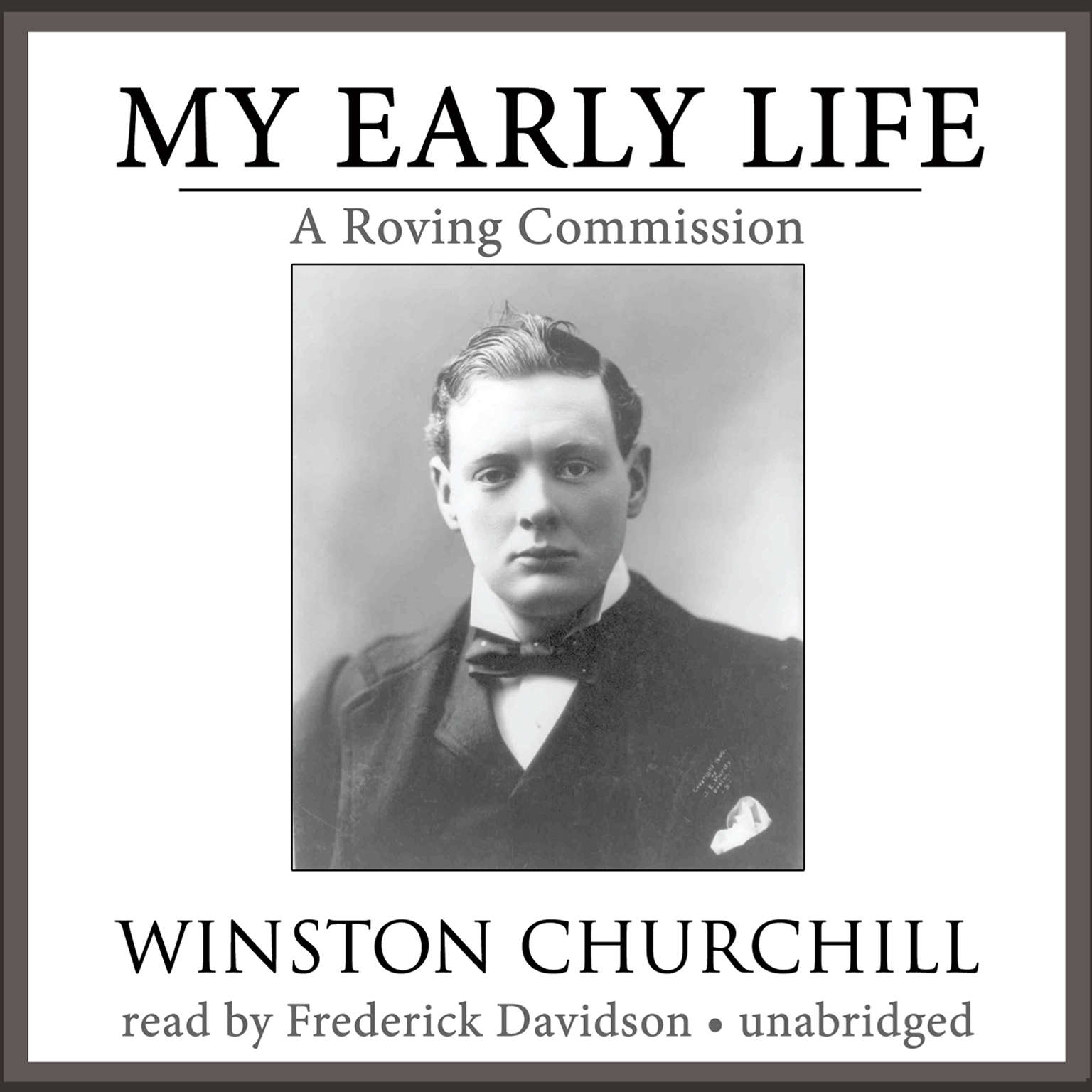 Printable My Early Life: A Roving Commission Audiobook Cover Art