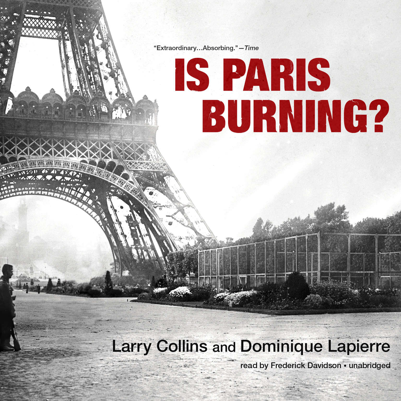 Printable Is Paris Burning? Audiobook Cover Art