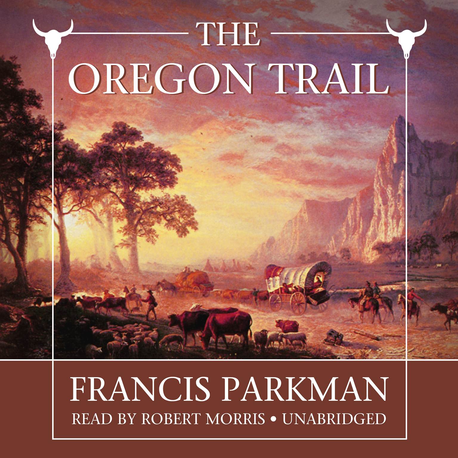 Printable The Oregon Trail Audiobook Cover Art