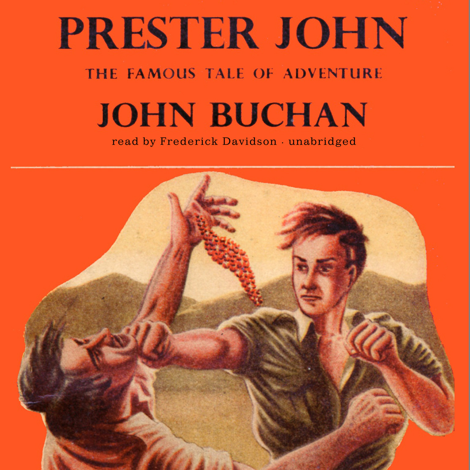 Printable Prester John Audiobook Cover Art