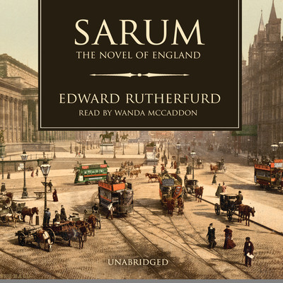 Sarum: The Novel of England Audiobook, by Edward Rutherfurd