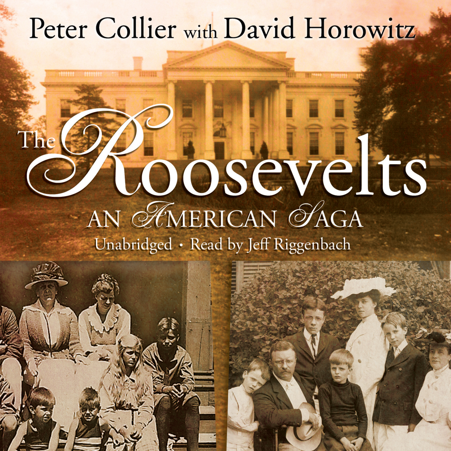 Printable The Roosevelts: An American Saga Audiobook Cover Art