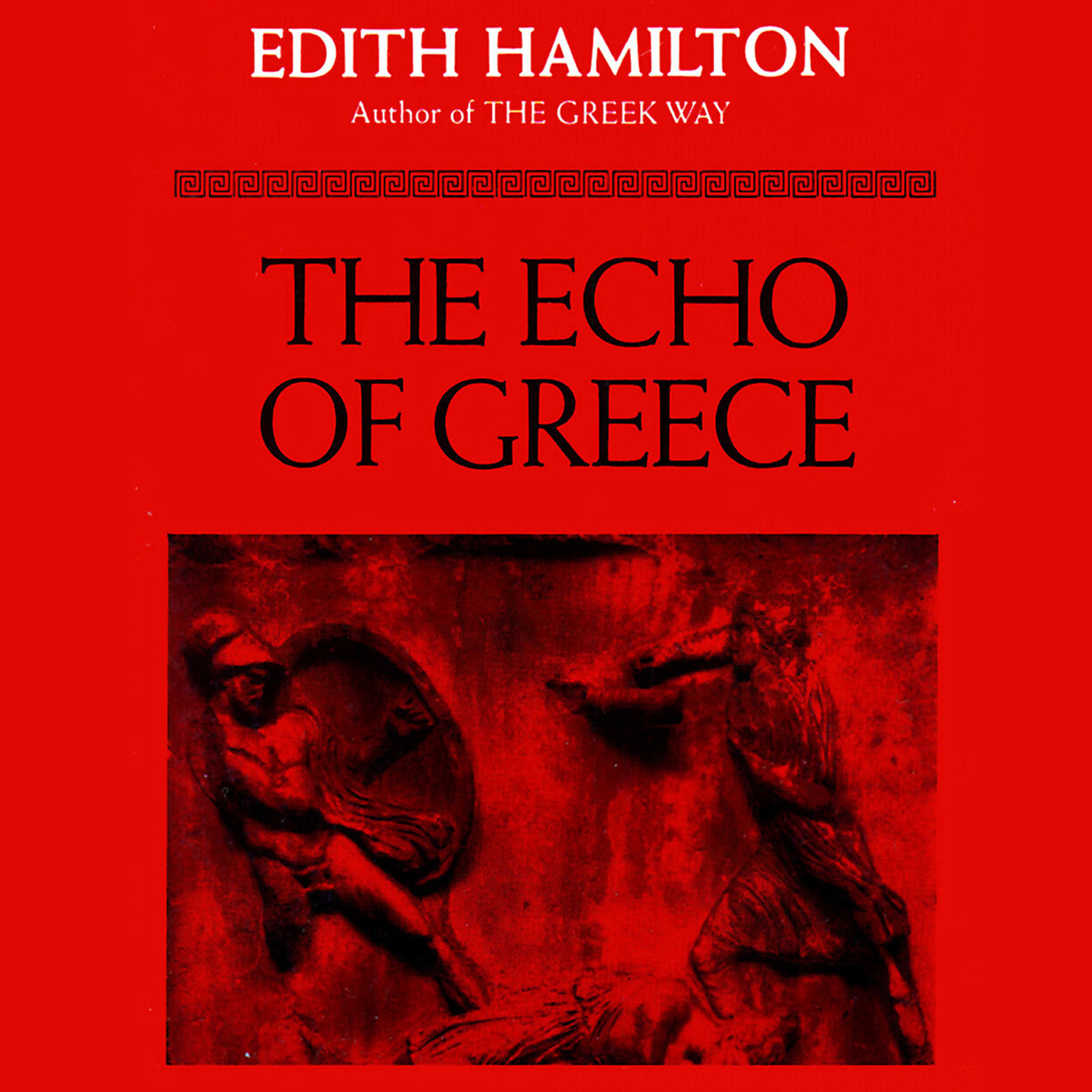 Printable The Echo of Greece Audiobook Cover Art