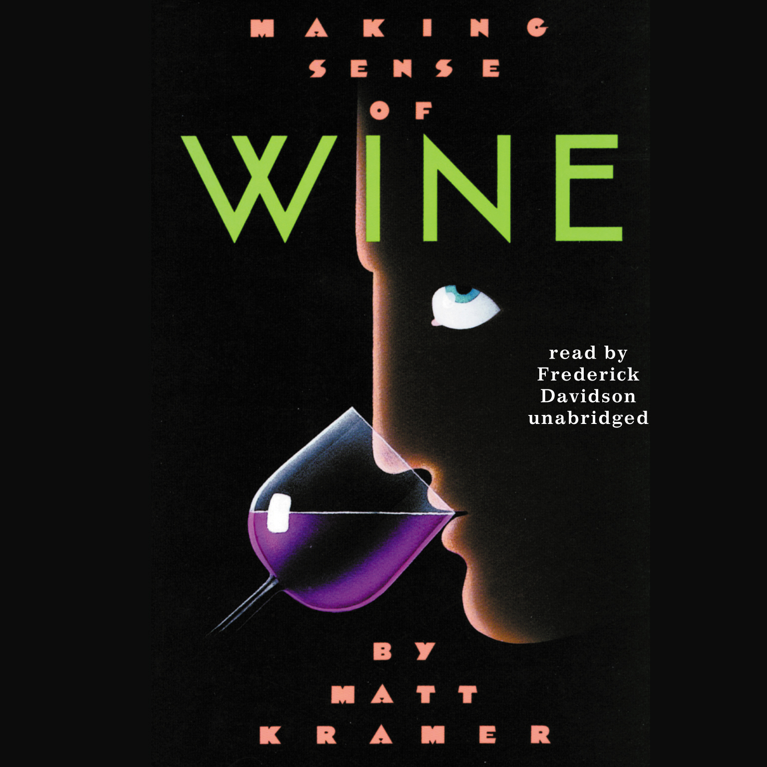 Printable Making Sense of Wine Audiobook Cover Art
