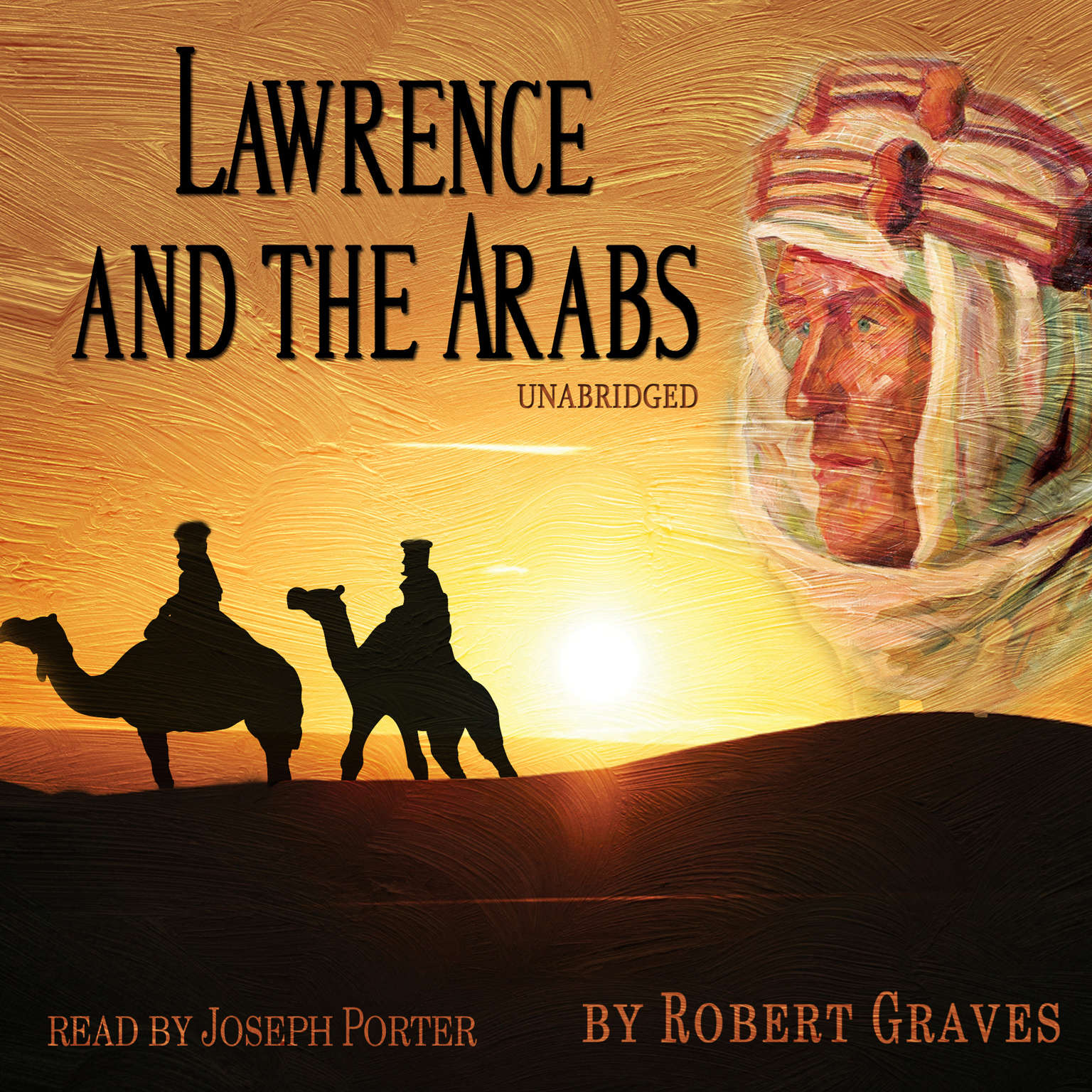 Printable Lawrence and the Arabs Audiobook Cover Art