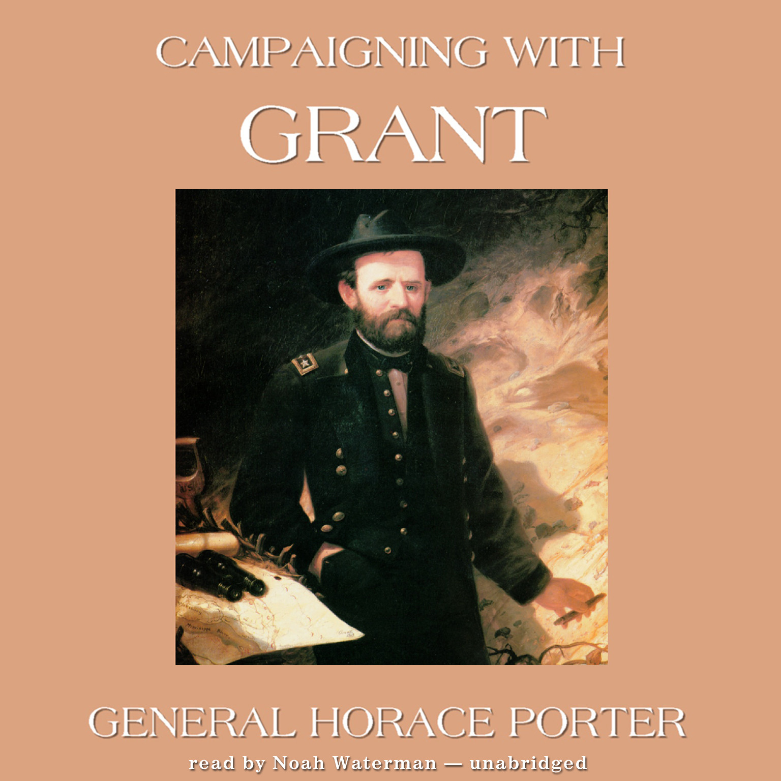 Printable Campaigning with Grant Audiobook Cover Art