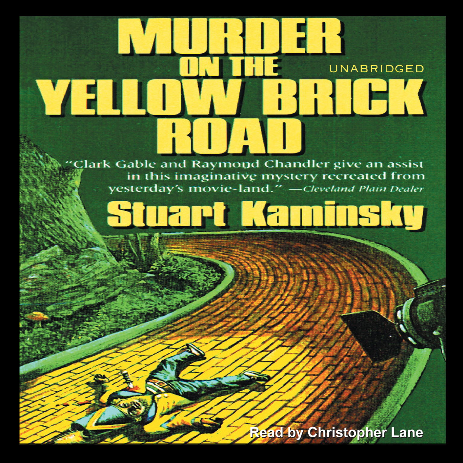 Printable Murder on the Yellow Brick Road Audiobook Cover Art