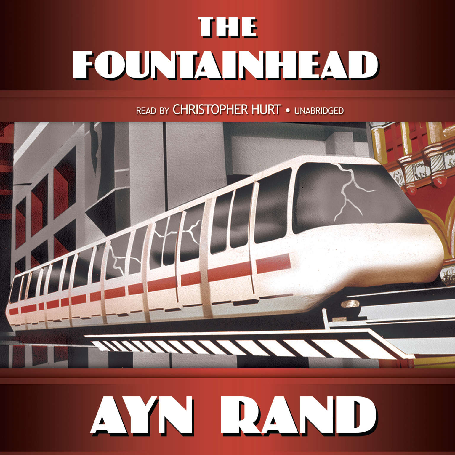 Printable The Fountainhead Audiobook Cover Art