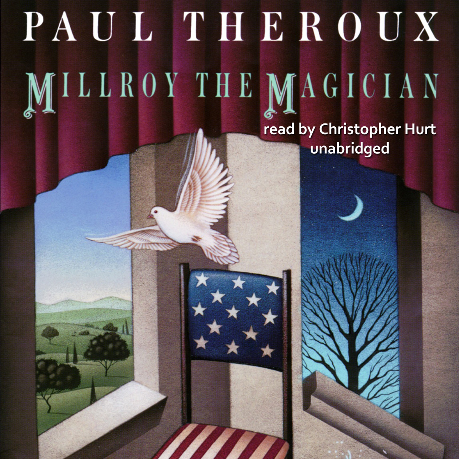 Printable Millroy the Magician Audiobook Cover Art