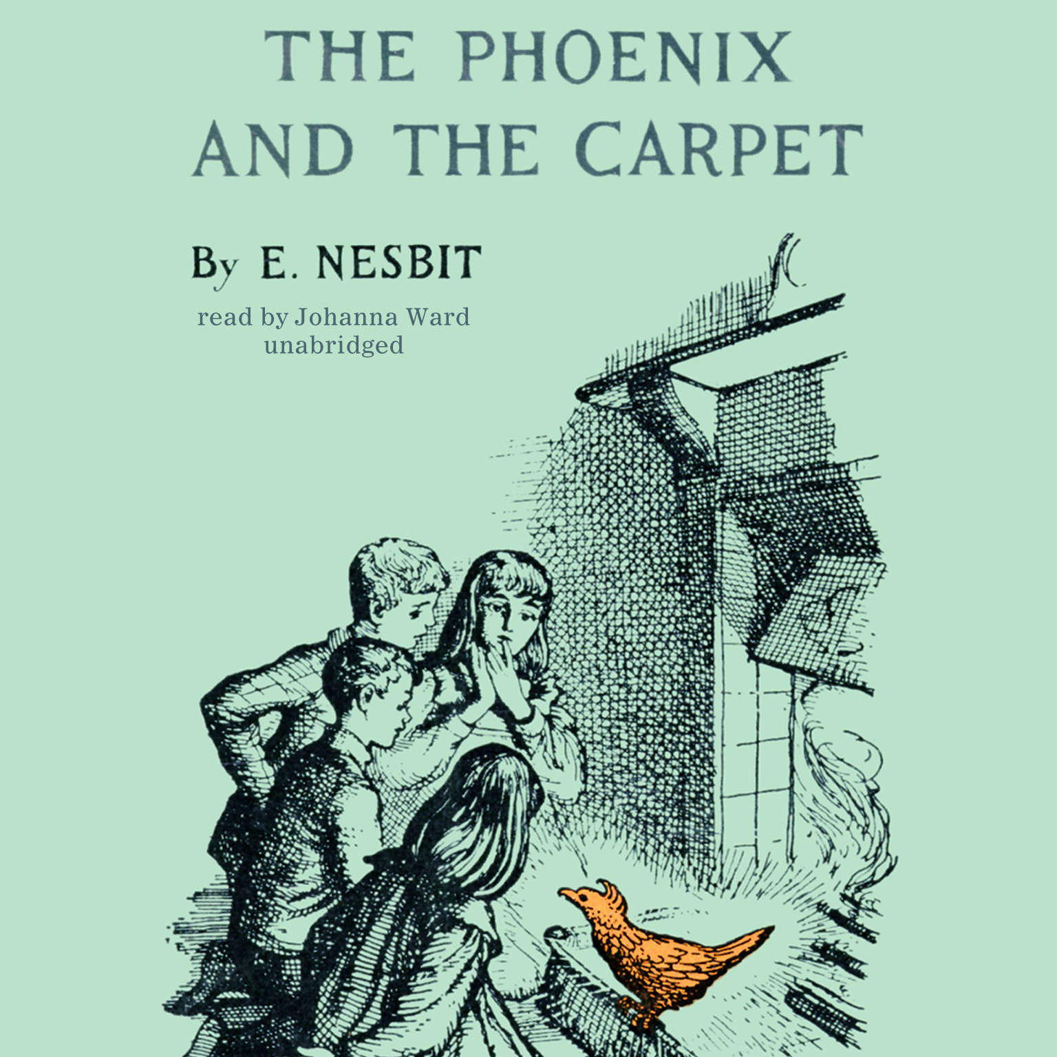 Printable The Phoenix and the Carpet Audiobook Cover Art