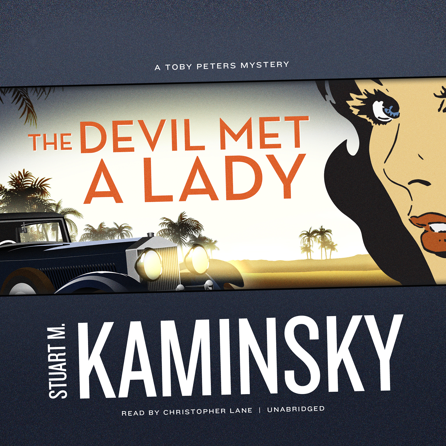 Printable The Devil Met a Lady Audiobook Cover Art