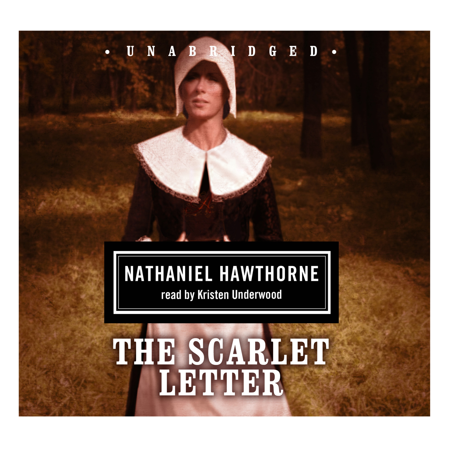 Printable The Scarlet Letter Audiobook Cover Art