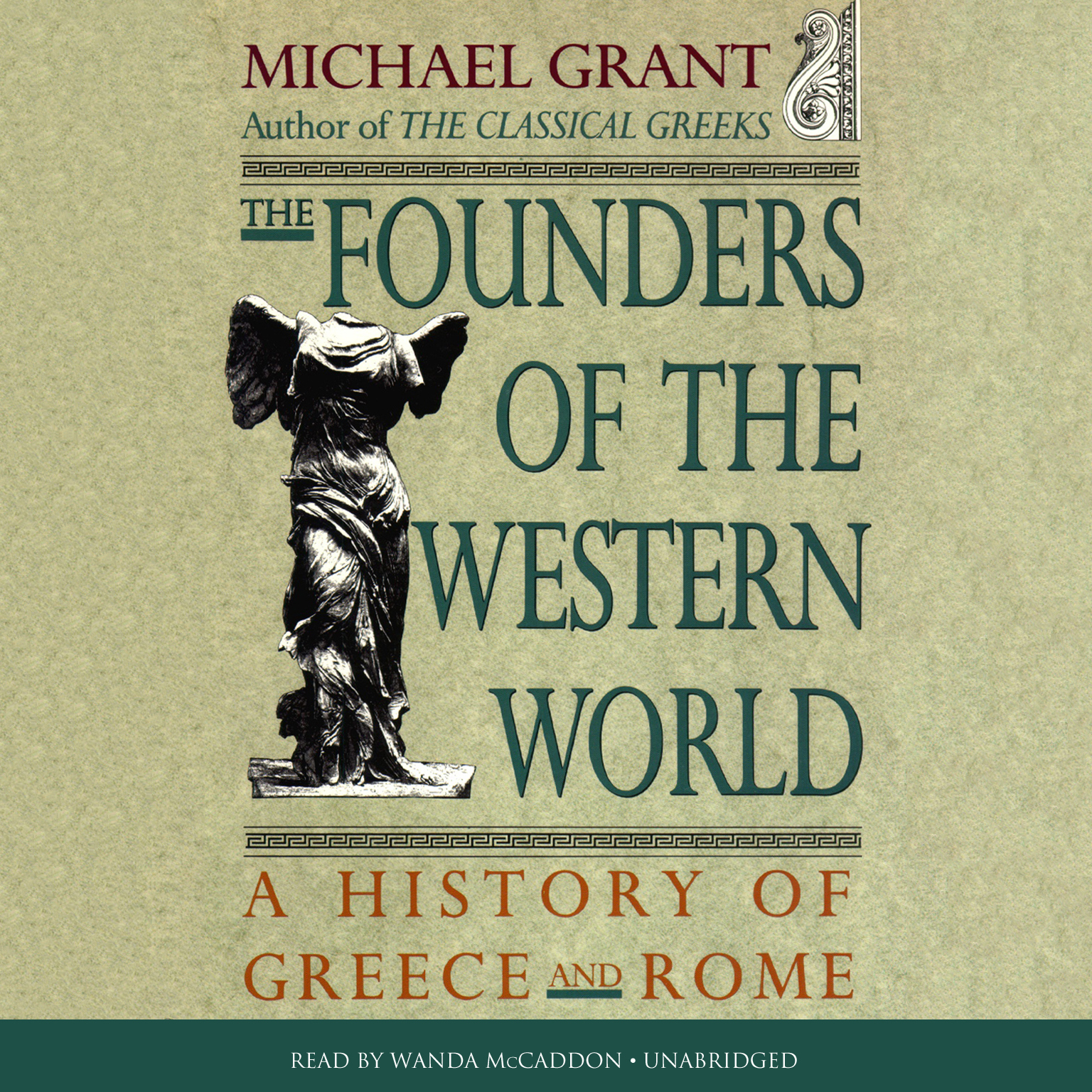 Printable The Founders of the Western World: A History of Greece and Rome Audiobook Cover Art