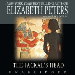 The Jackal's Head Audiobook, by Elizabeth Peters