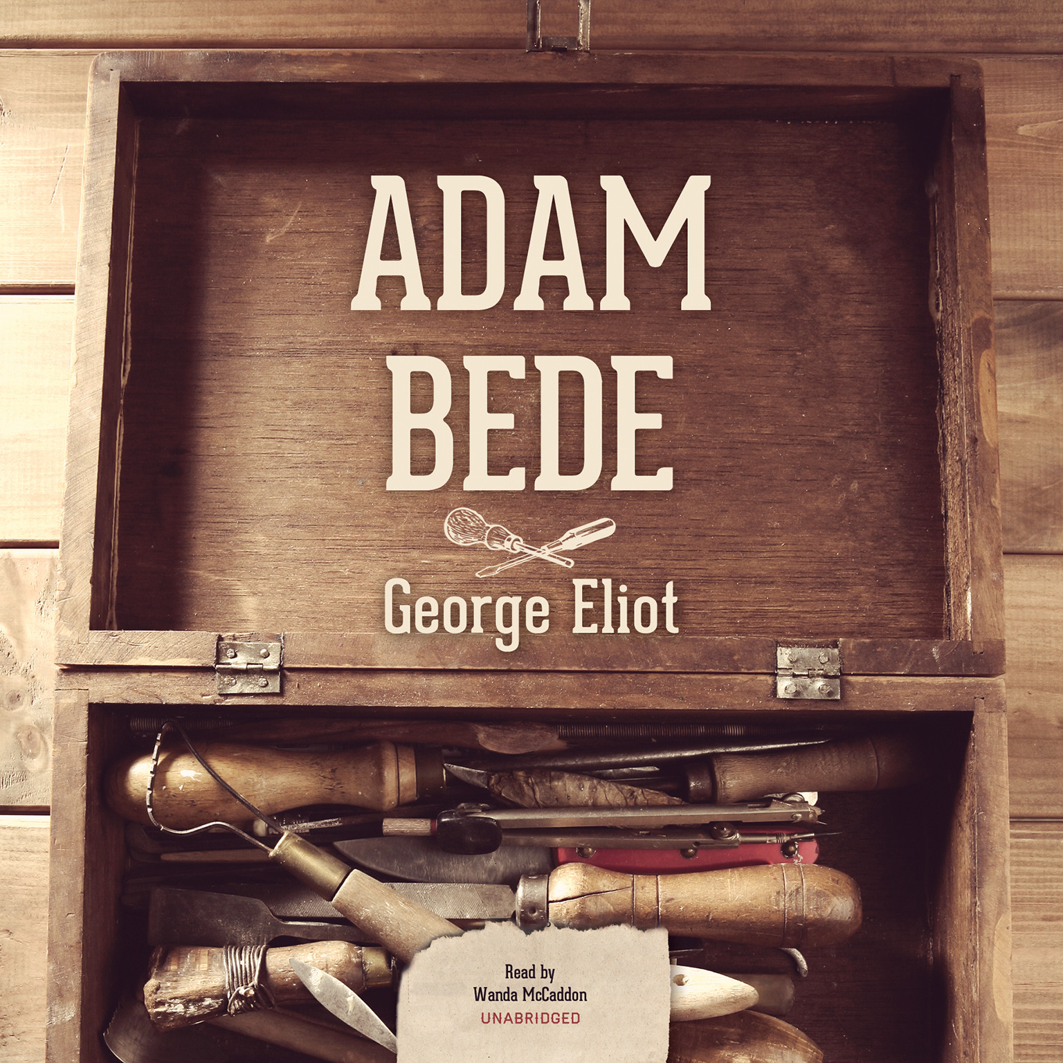 Printable Adam Bede Audiobook Cover Art