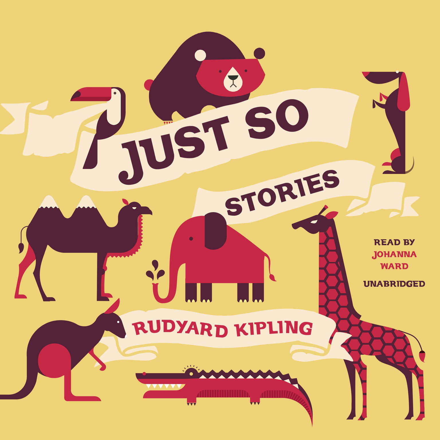 Printable Just So Stories Audiobook Cover Art