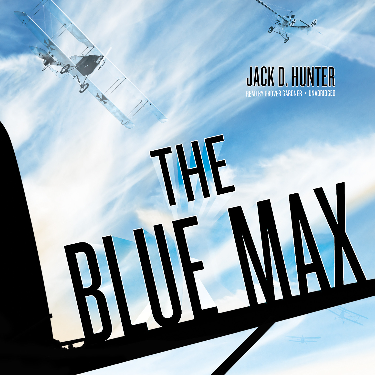 Printable The Blue Max Audiobook Cover Art