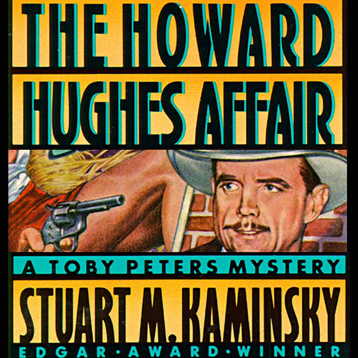 Printable The Howard Hughes Affair Audiobook Cover Art