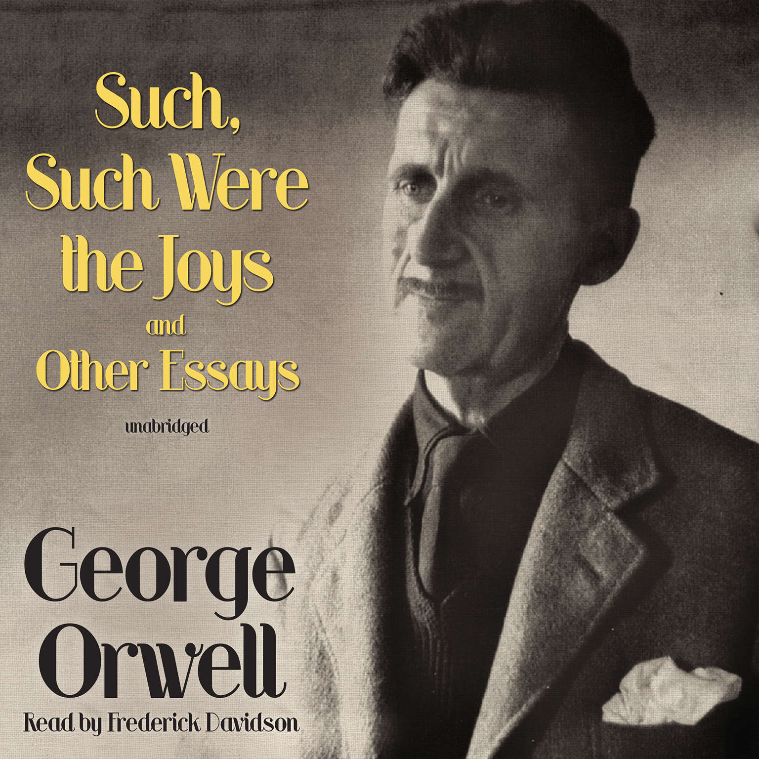 Printable Such, Such Were the Joys and Other Essays Audiobook Cover Art