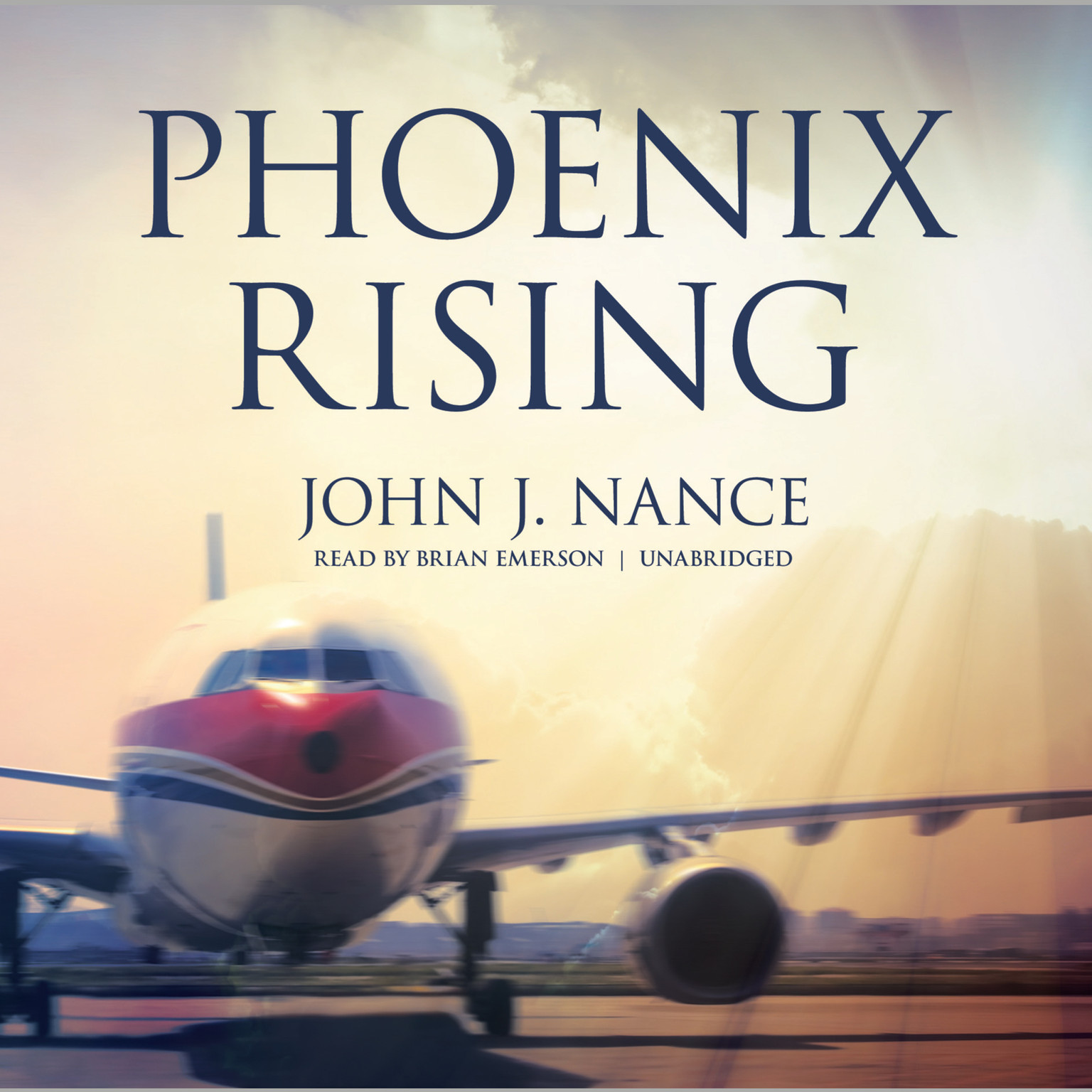 Printable Phoenix Rising Audiobook Cover Art