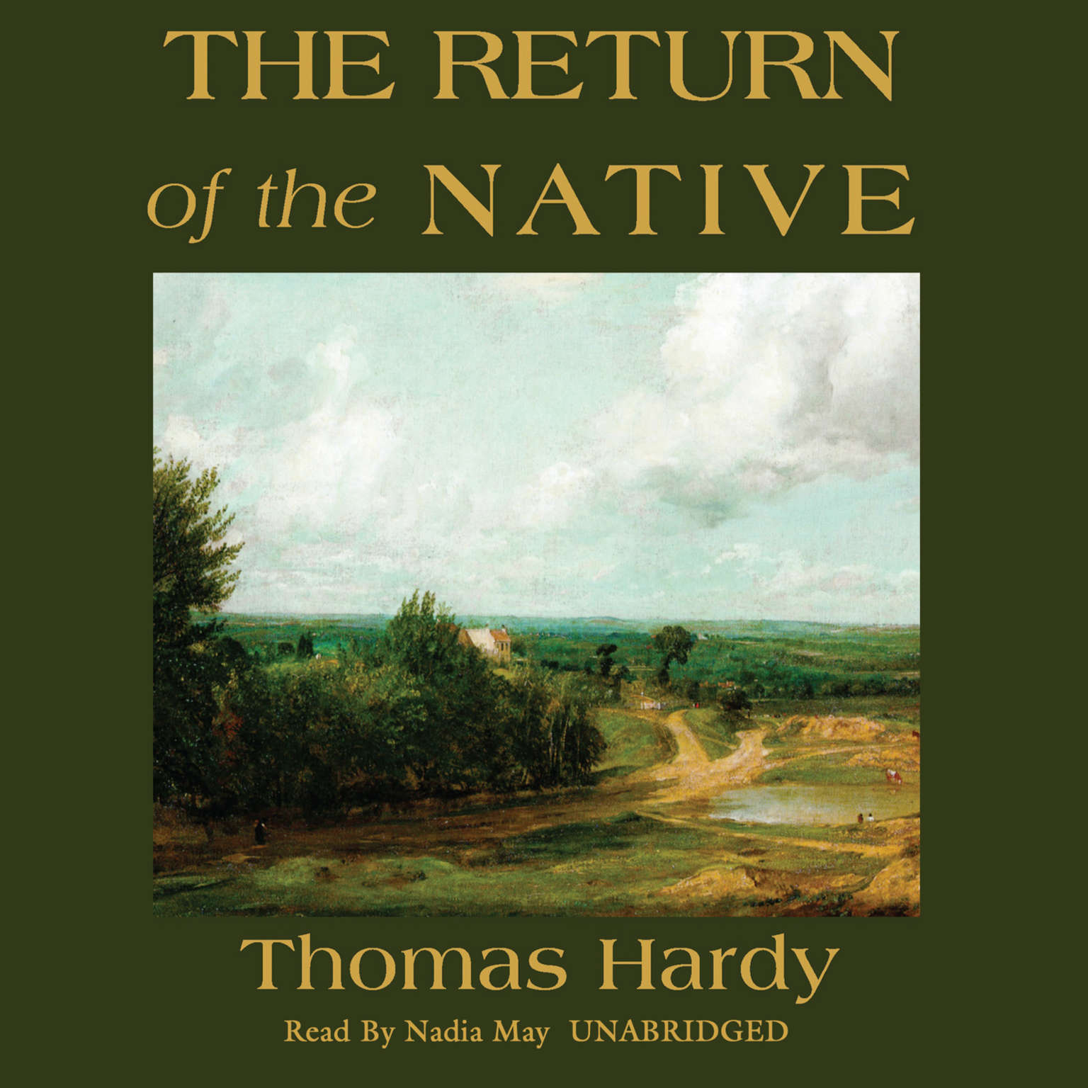 Printable The Return of the Native Audiobook Cover Art