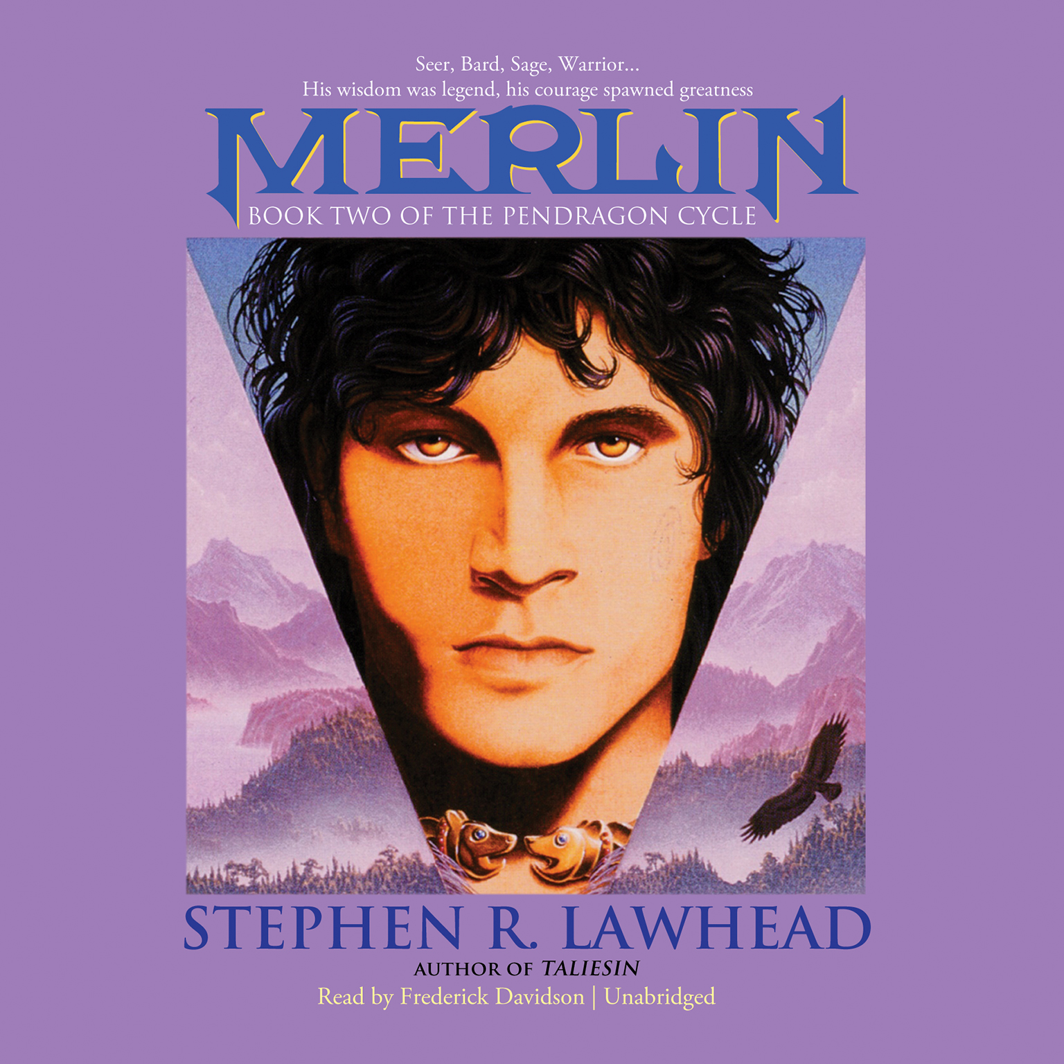 Printable Merlin Audiobook Cover Art