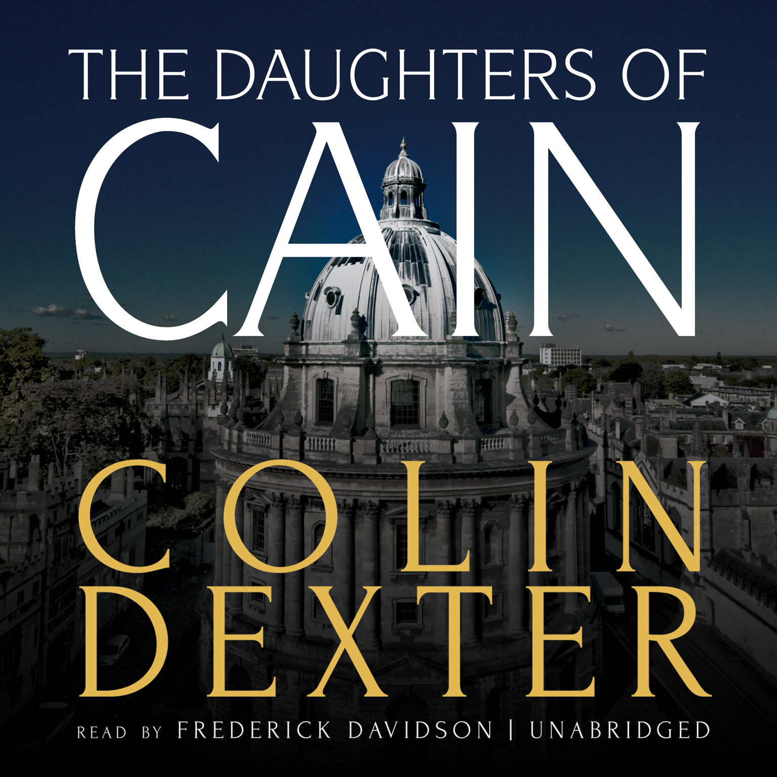 Printable The Daughters of Cain Audiobook Cover Art