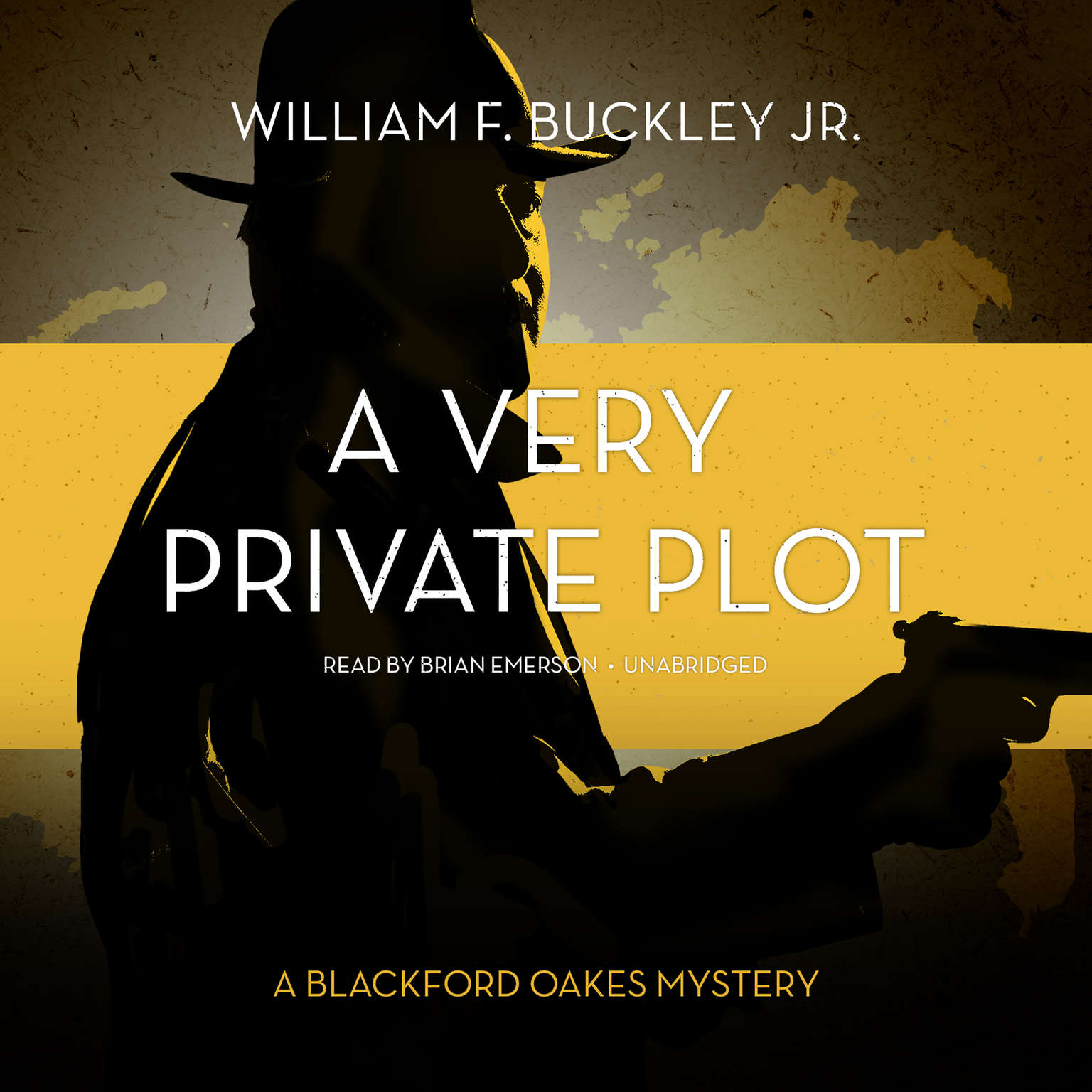 Printable A Very Private Plot: A Blackford Oakes Novel Audiobook Cover Art
