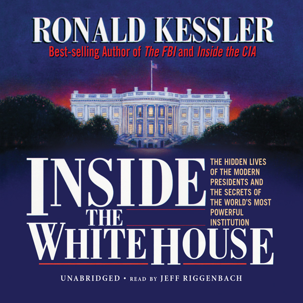 Printable Inside the White House Audiobook Cover Art