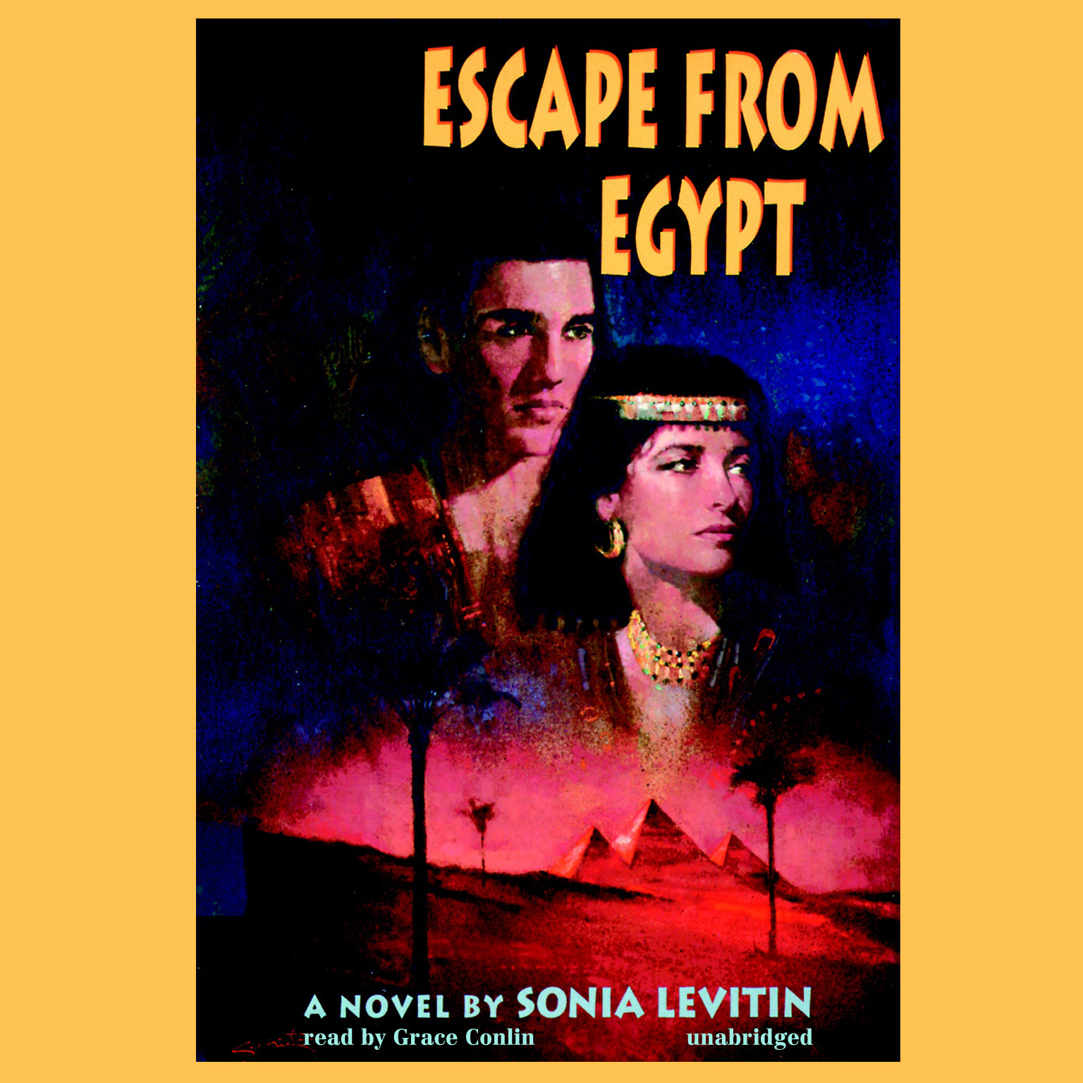 Printable Escape from Egypt Audiobook Cover Art