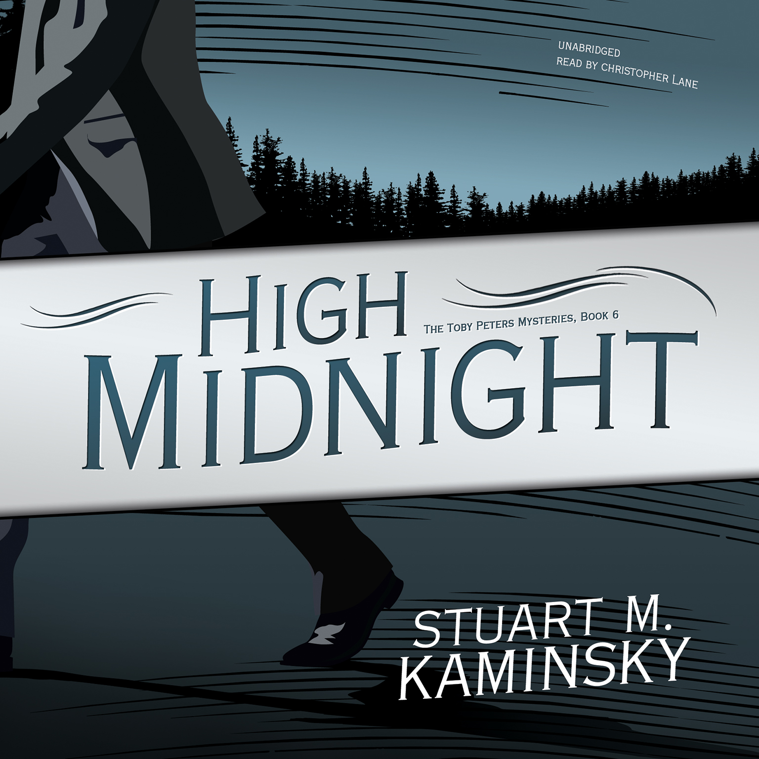 Printable High Midnight Audiobook Cover Art