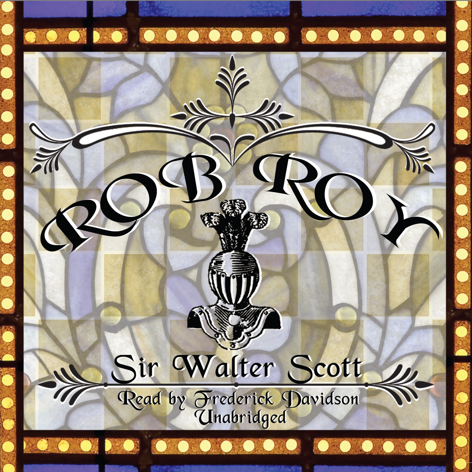 Printable Rob Roy Audiobook Cover Art