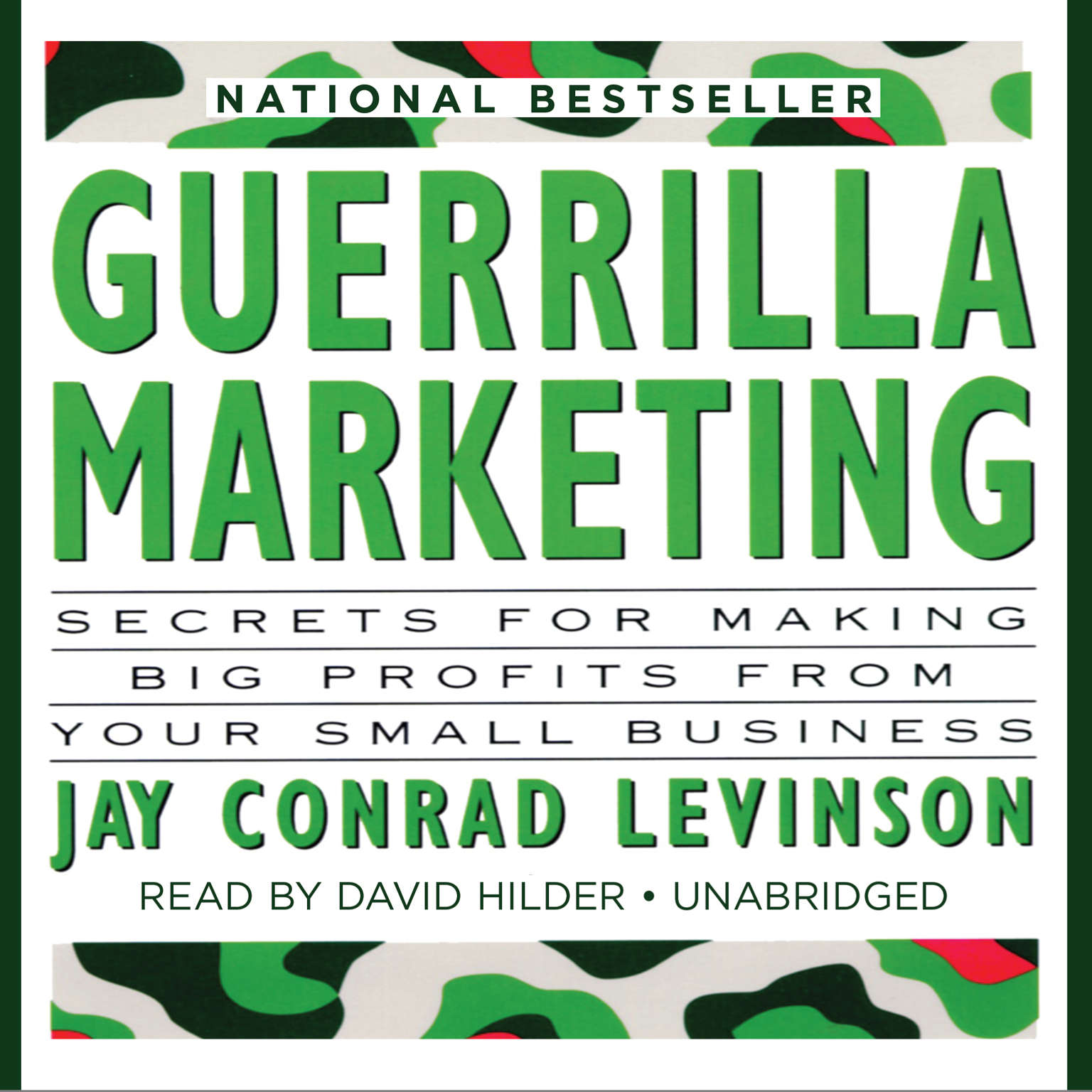 Printable Guerrilla Marketing: Secrets for Making Big Profits from Your Small Business Audiobook Cover Art