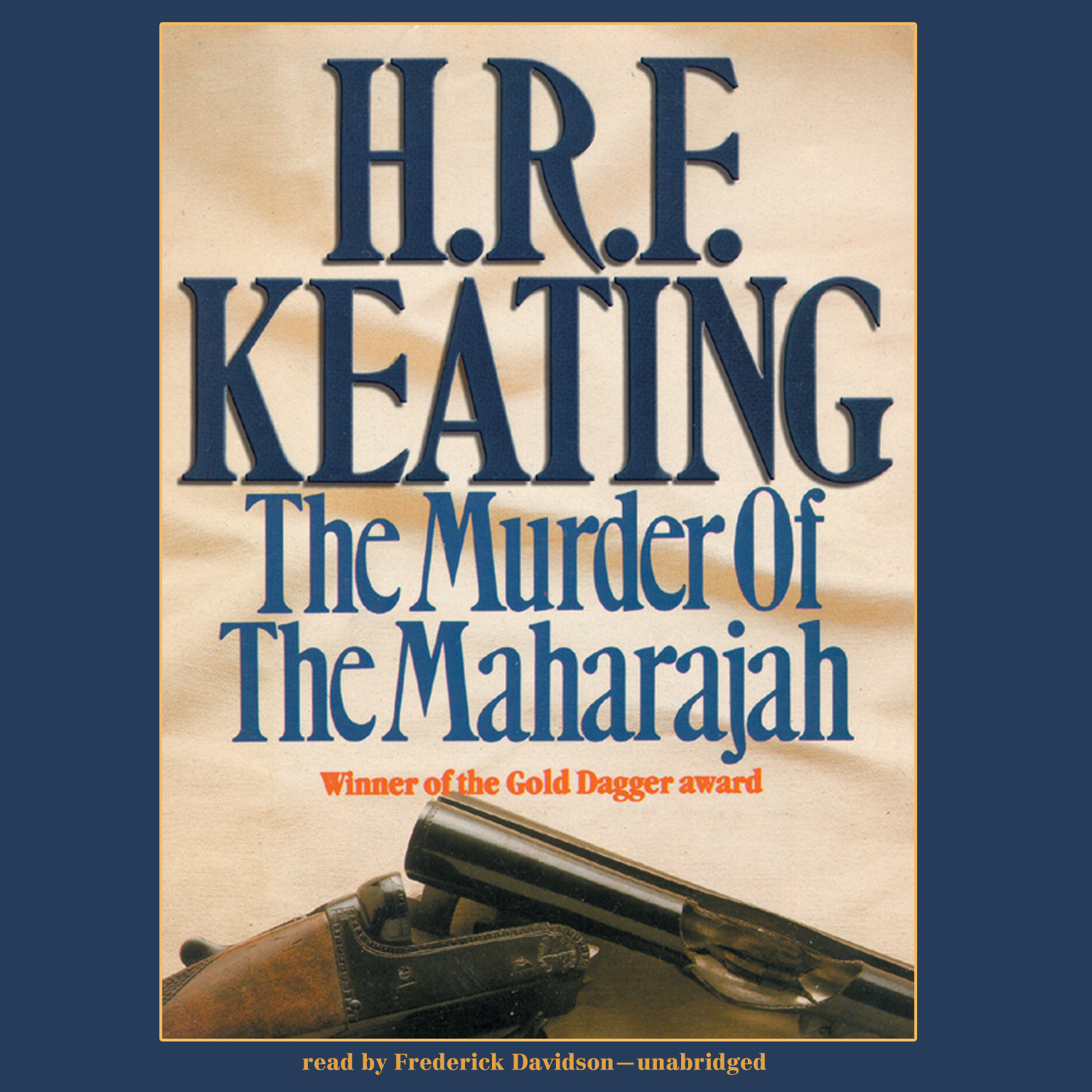 Printable The Murder of the Maharajah Audiobook Cover Art