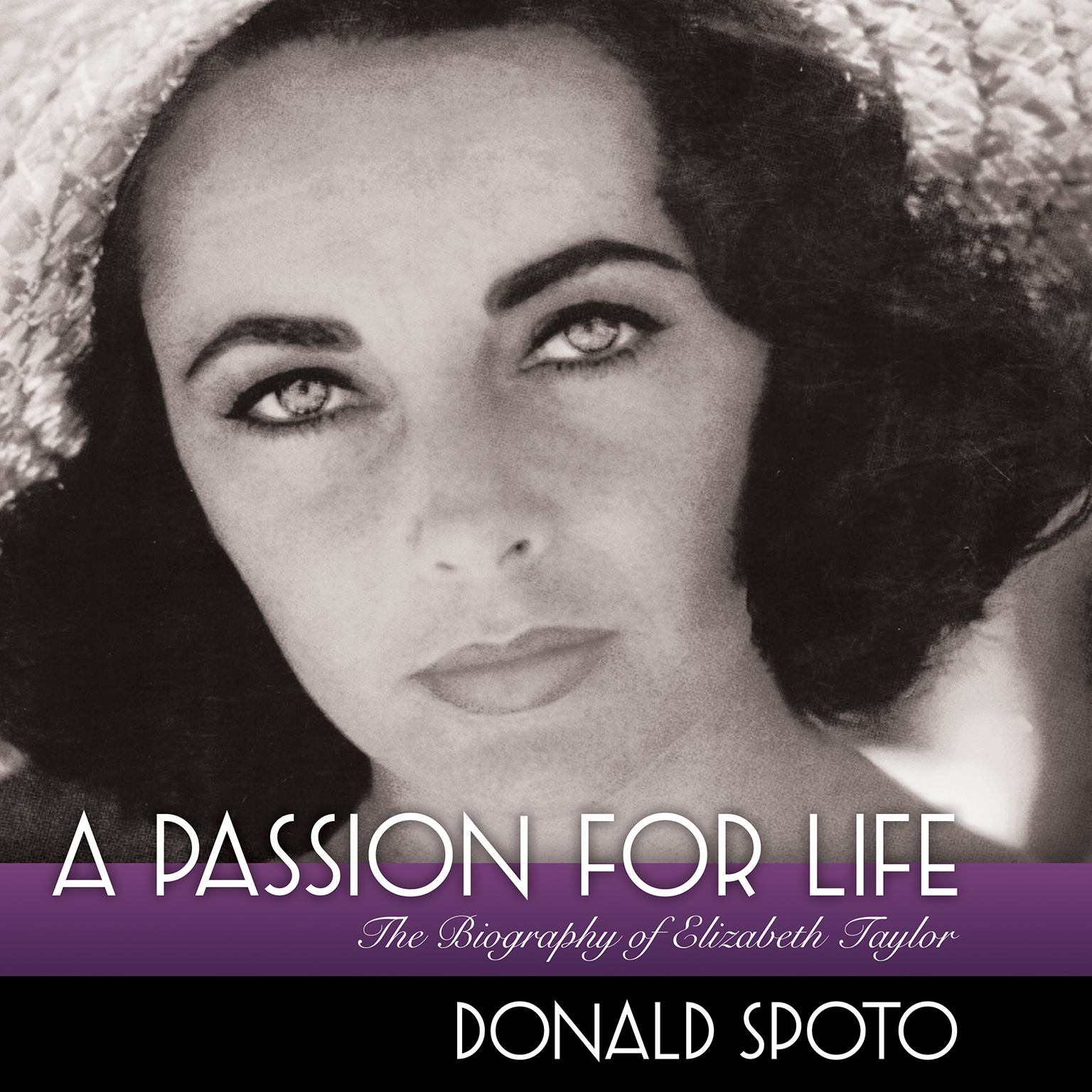 Printable A Passion for Life: The Biography of Elizabeth Taylor Audiobook Cover Art