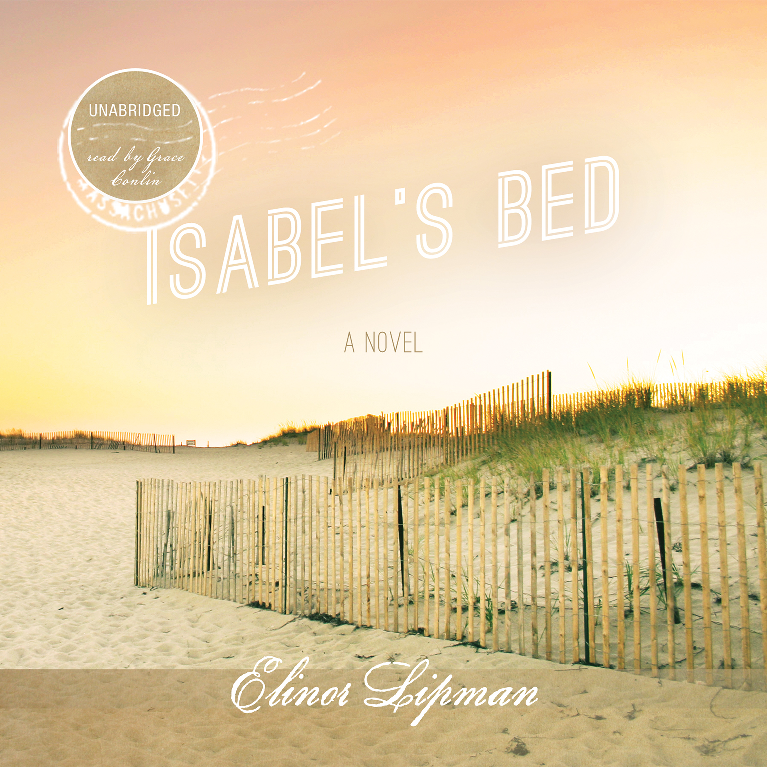 Printable Isabel's Bed Audiobook Cover Art