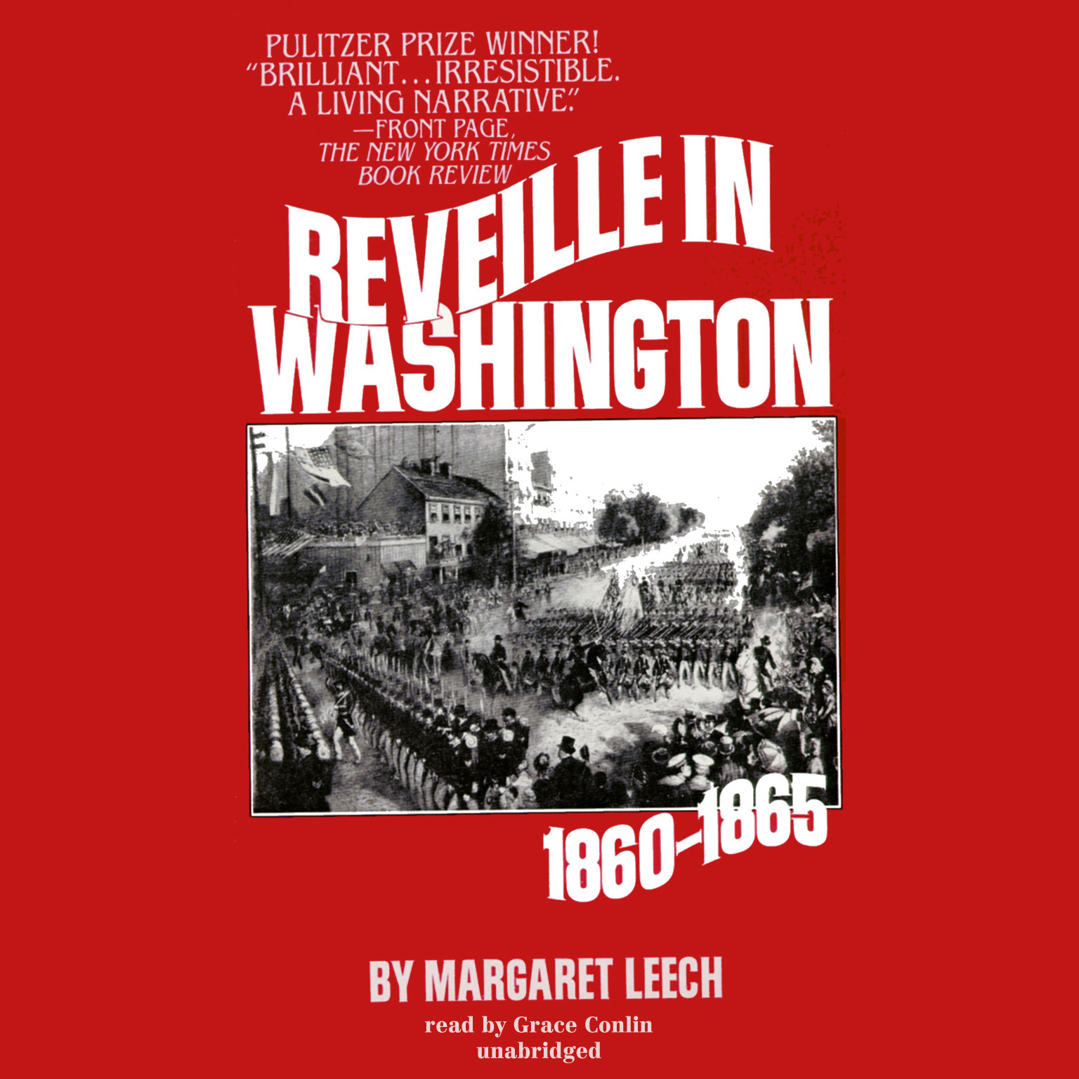 Printable Reveille in Washington Audiobook Cover Art