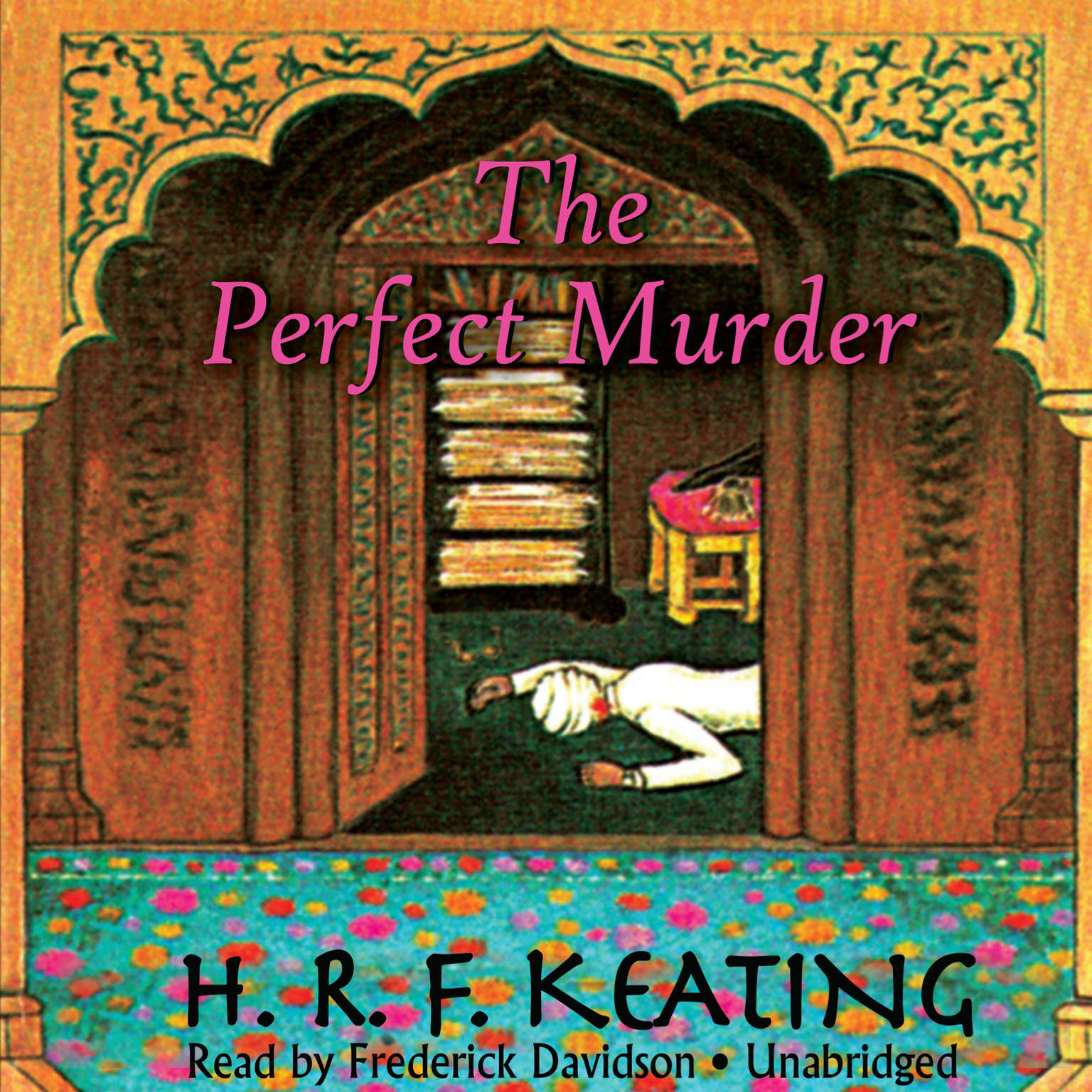Printable The Perfect Murder Audiobook Cover Art
