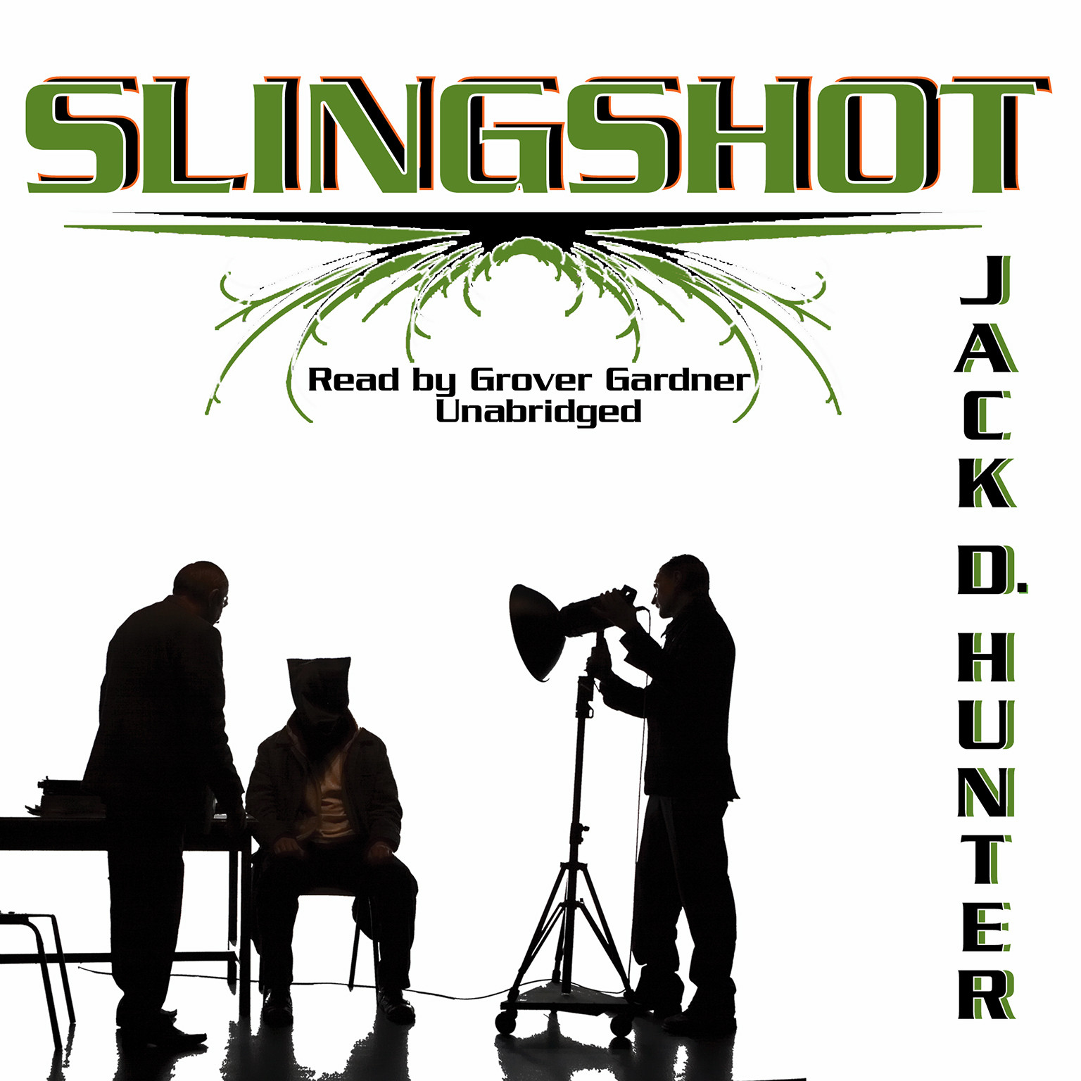 Printable Slingshot Audiobook Cover Art